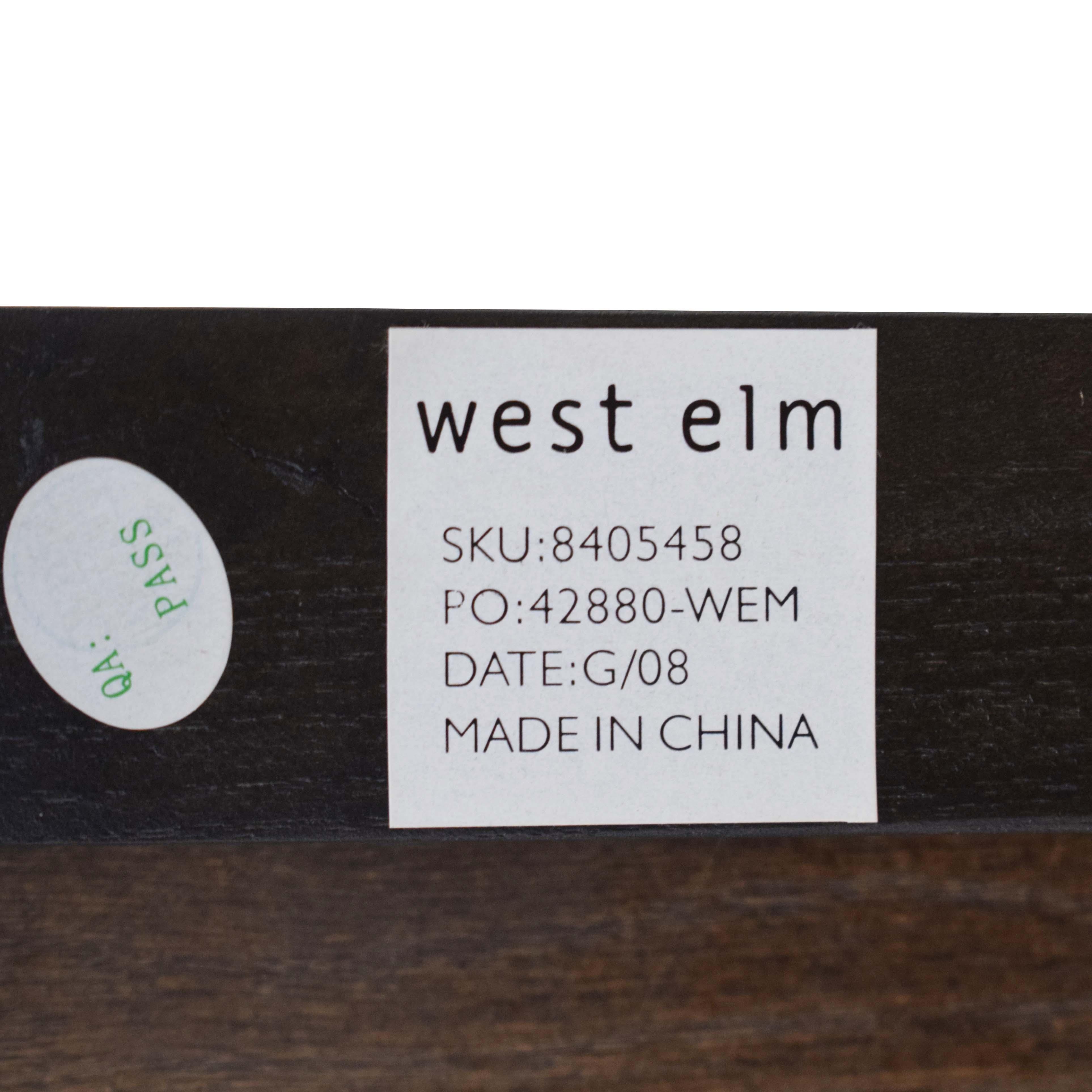 West Elm West Elm Two Drawer Dresser ma
