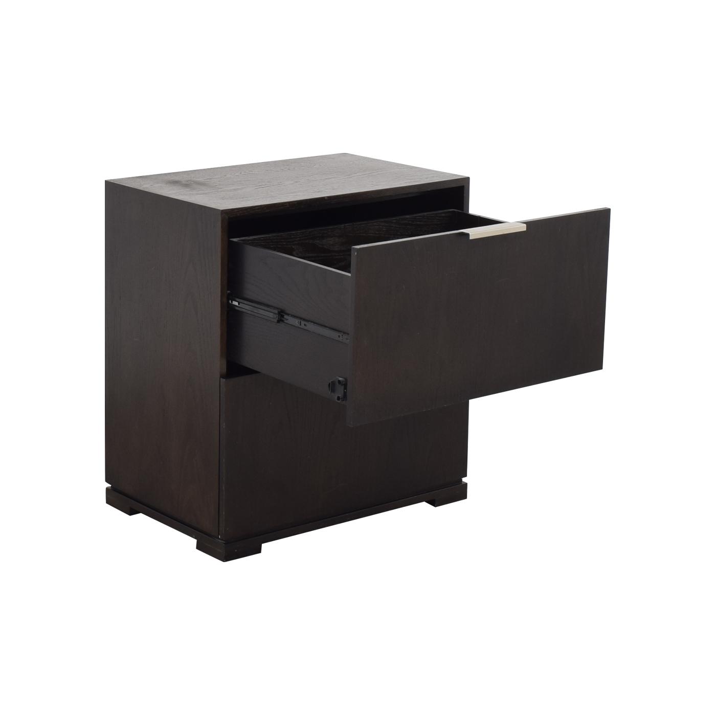 West Elm Two Drawer Dresser / Dressers