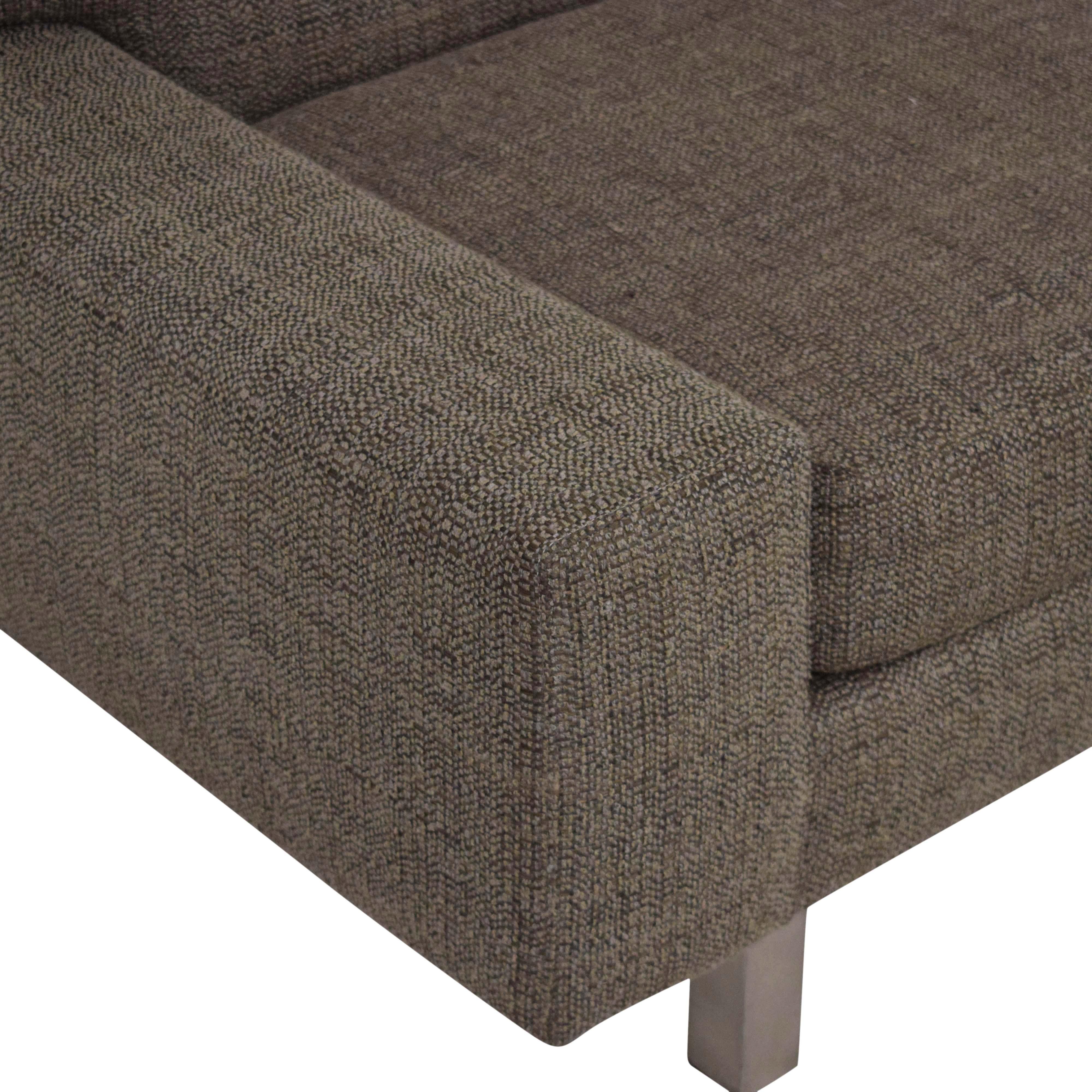 shop Crate & Barrel 3 Seat Sofa Crate & Barrel Sofas