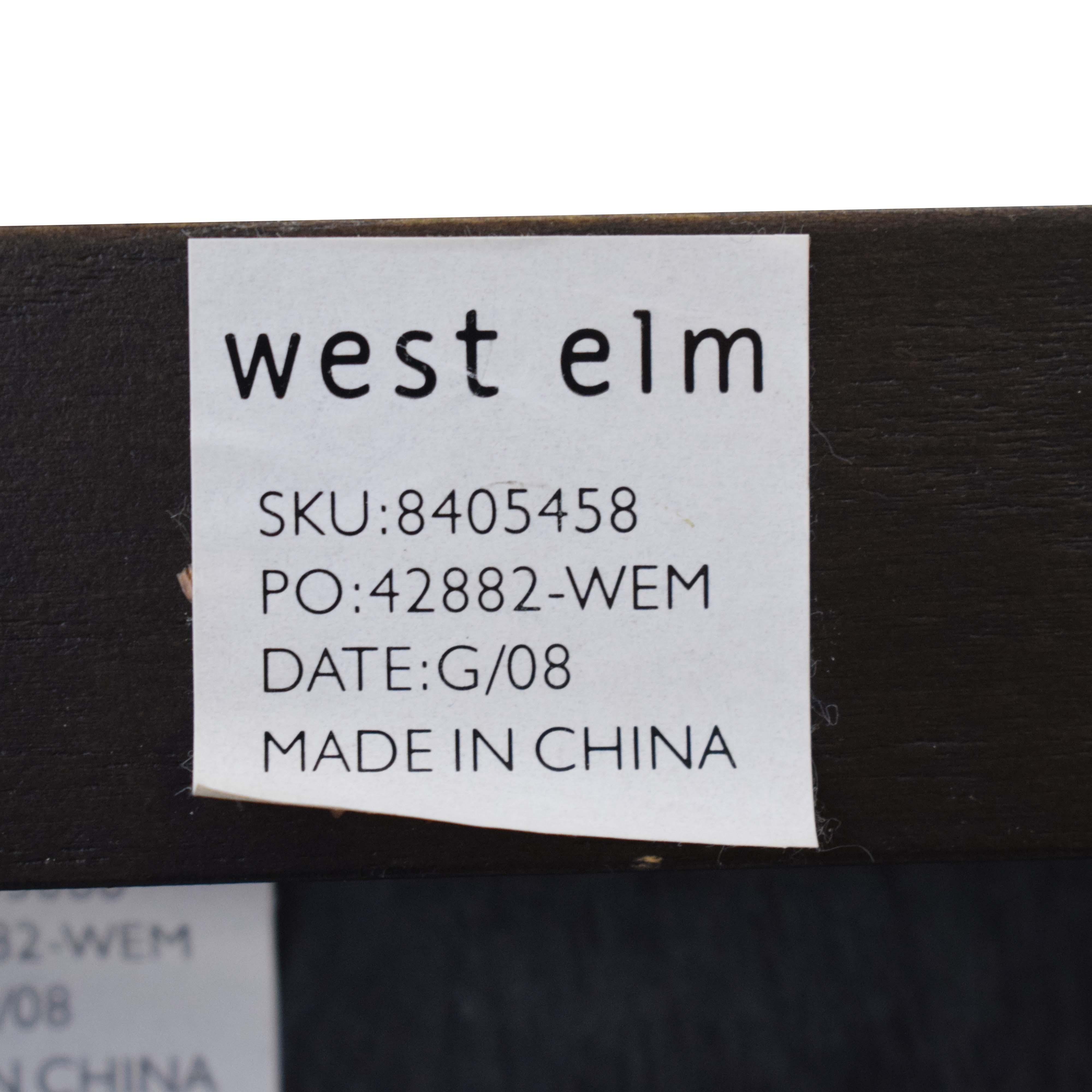 West Elm West Elm Two Door Cabinet dimensions
