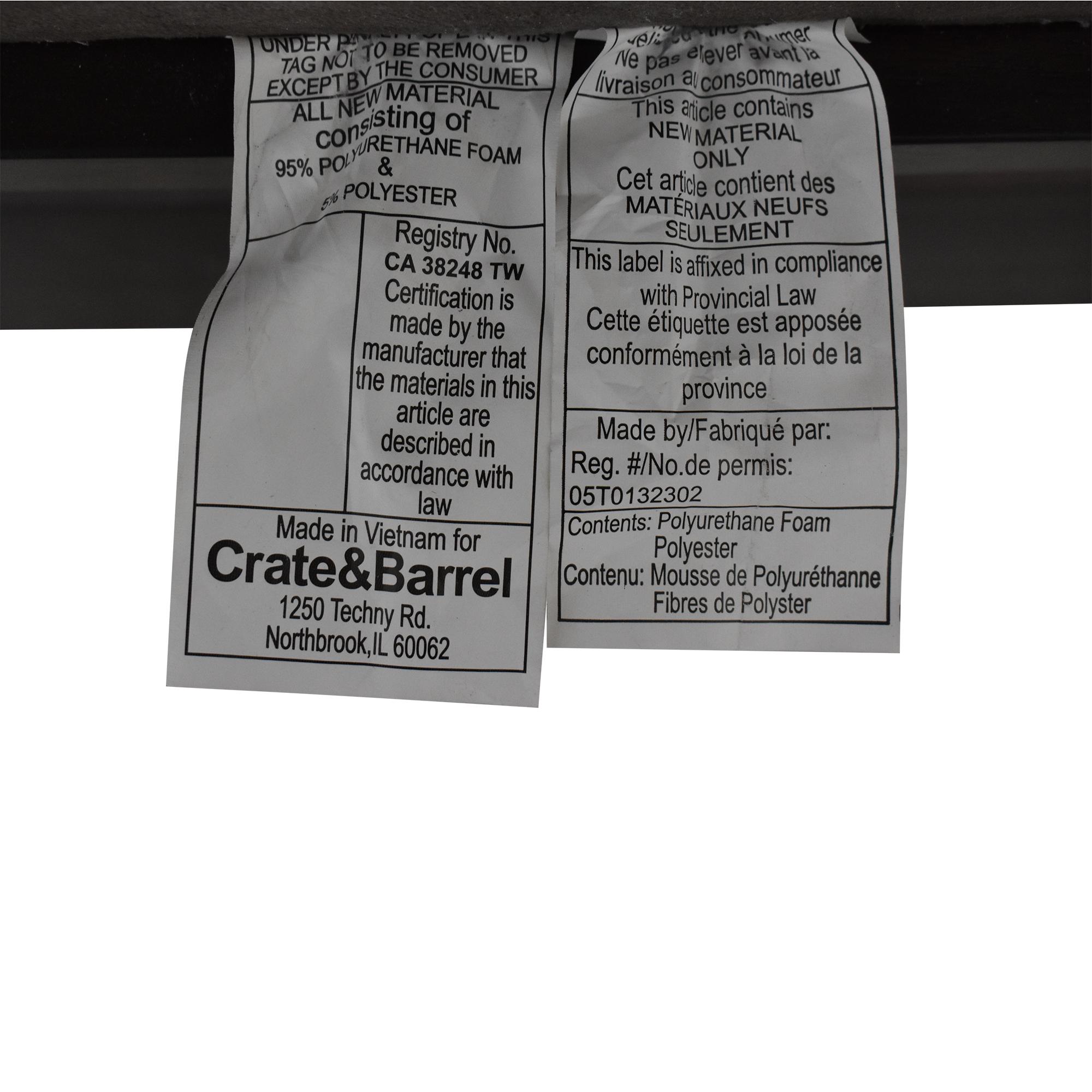 Crate & Barrel Crate & Barrel Queen Bedframe ct