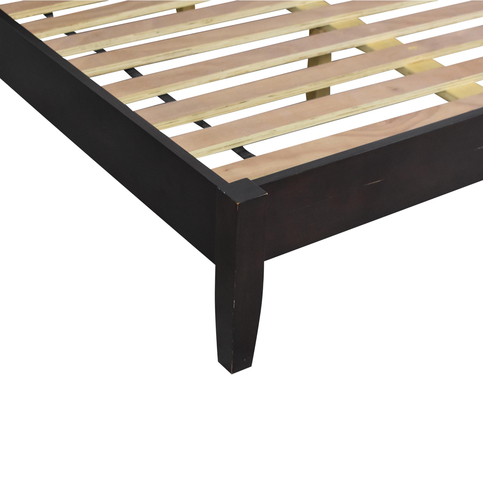 Crate & Barrel Queen Bedframe sale