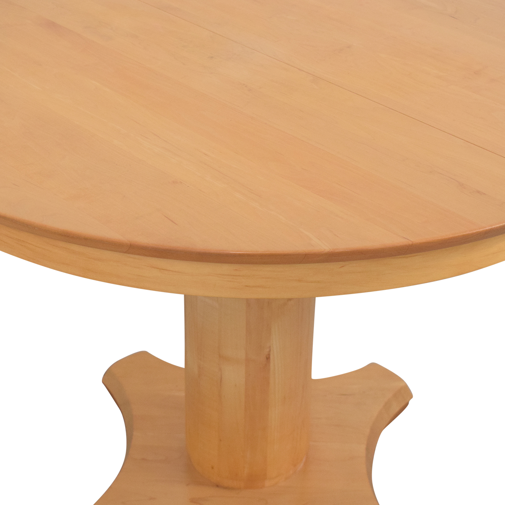 Crate & Barrel Crate & Barrel Dining Round Dinner Table dimensions