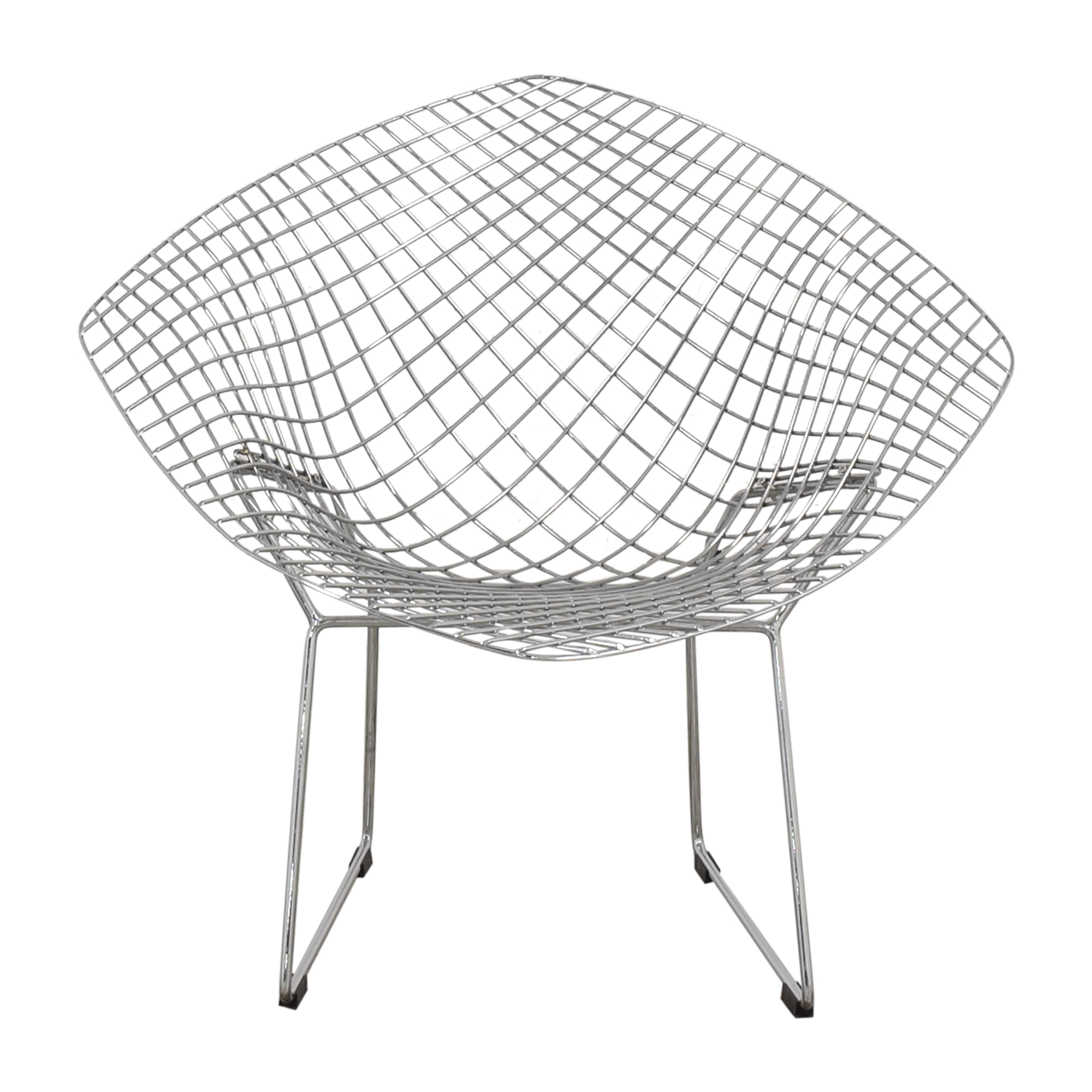 Bertoia-Style Diamond Lounge Chair