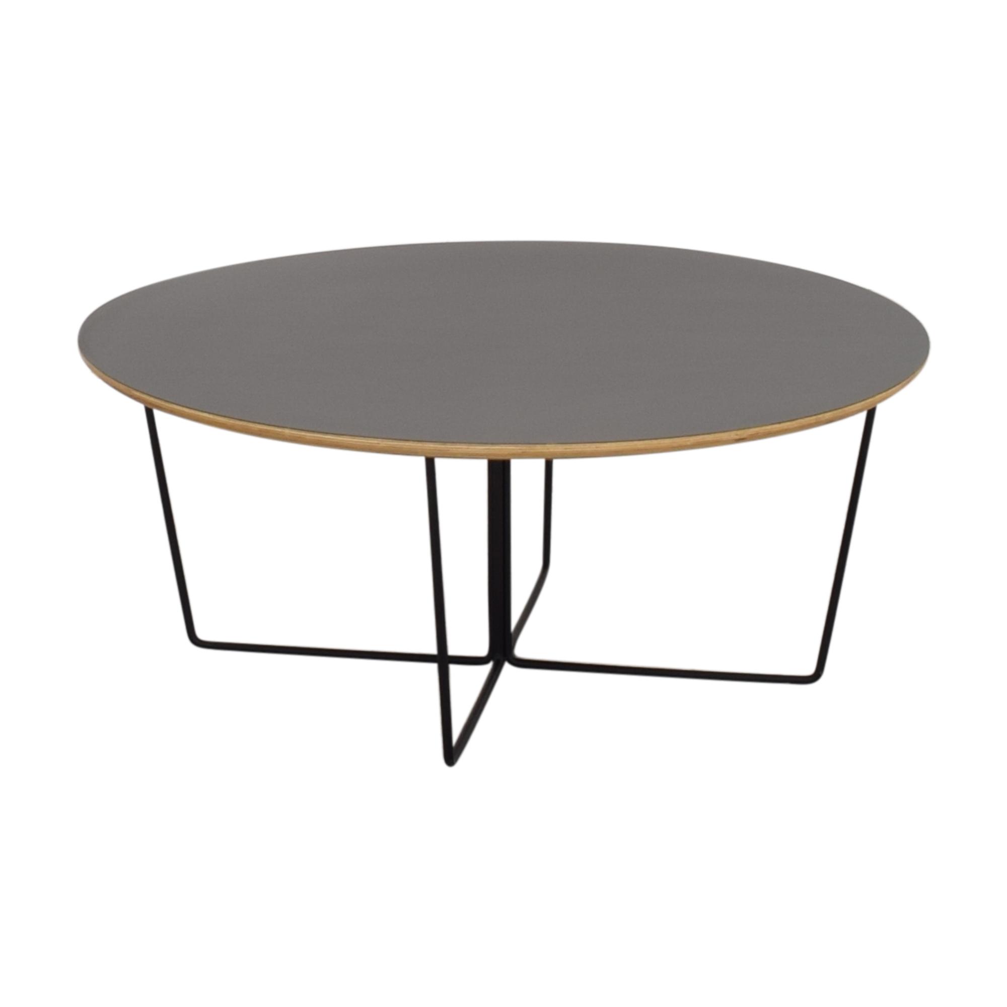 Gus Modern GUS* Modern Black Array Round Coffee Table coupon
