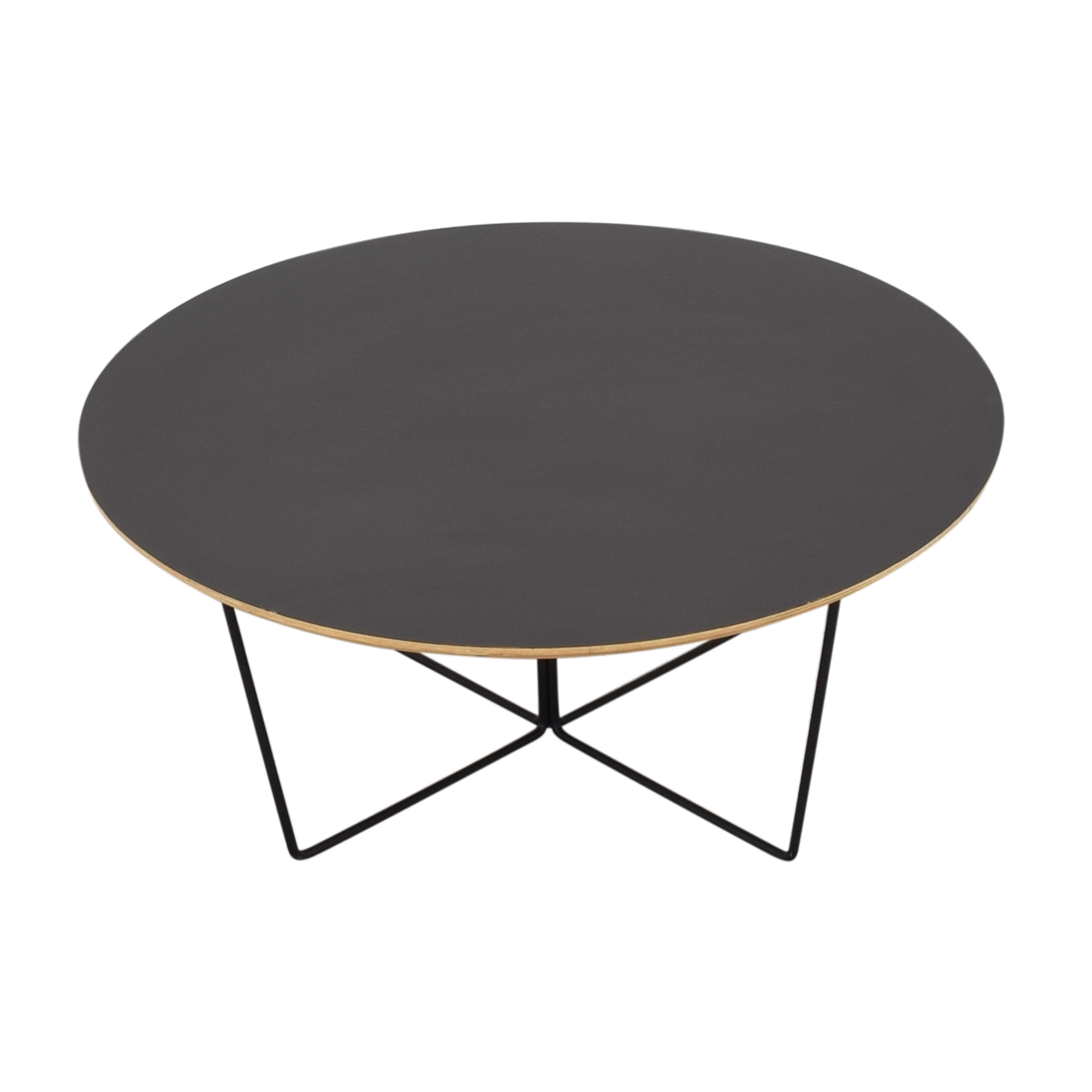 buy GUS* Modern Black Array Round Coffee Table Gus Modern Tables