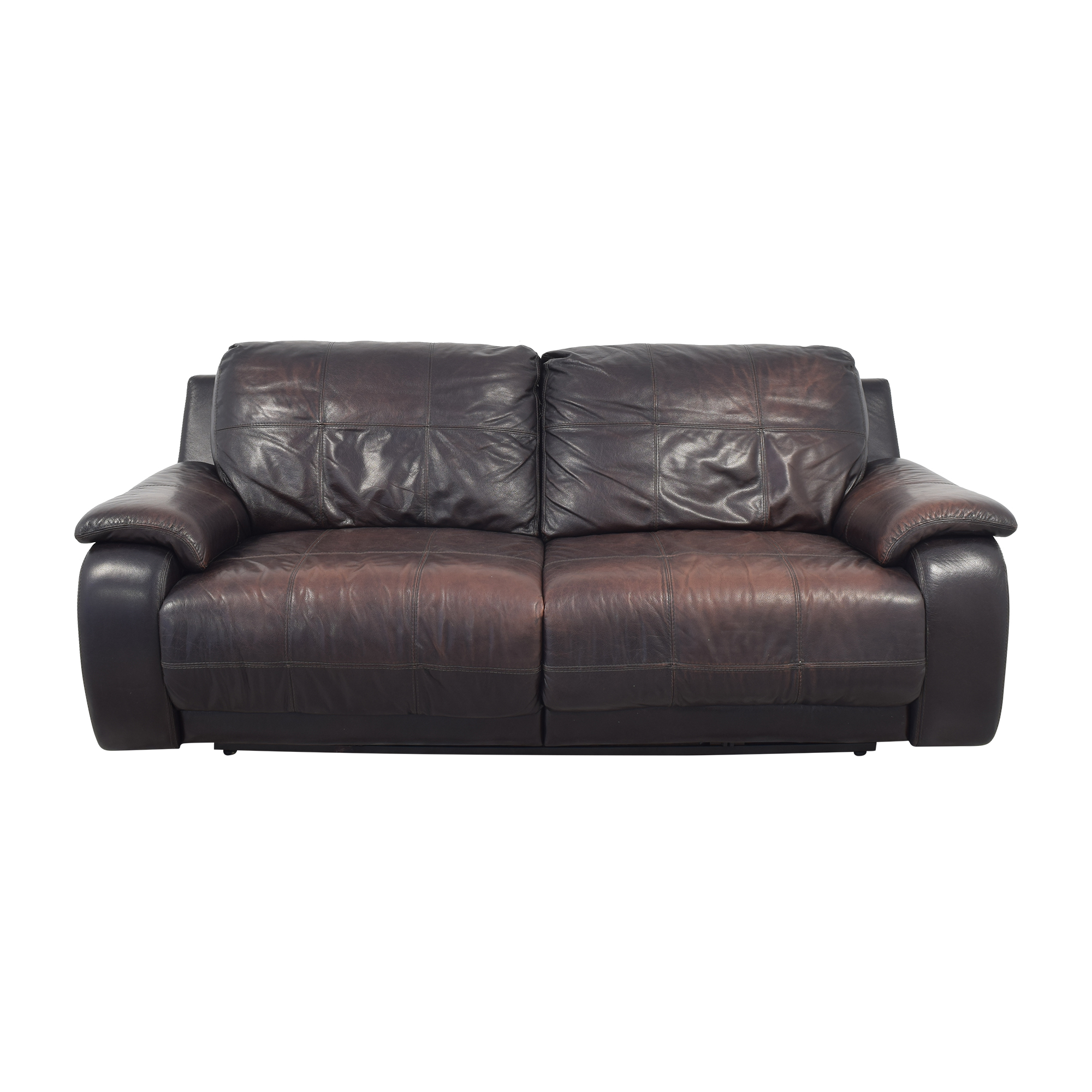 Raymour & Flanigan Raymour & Flanigan Power Recliner Sofa for sale