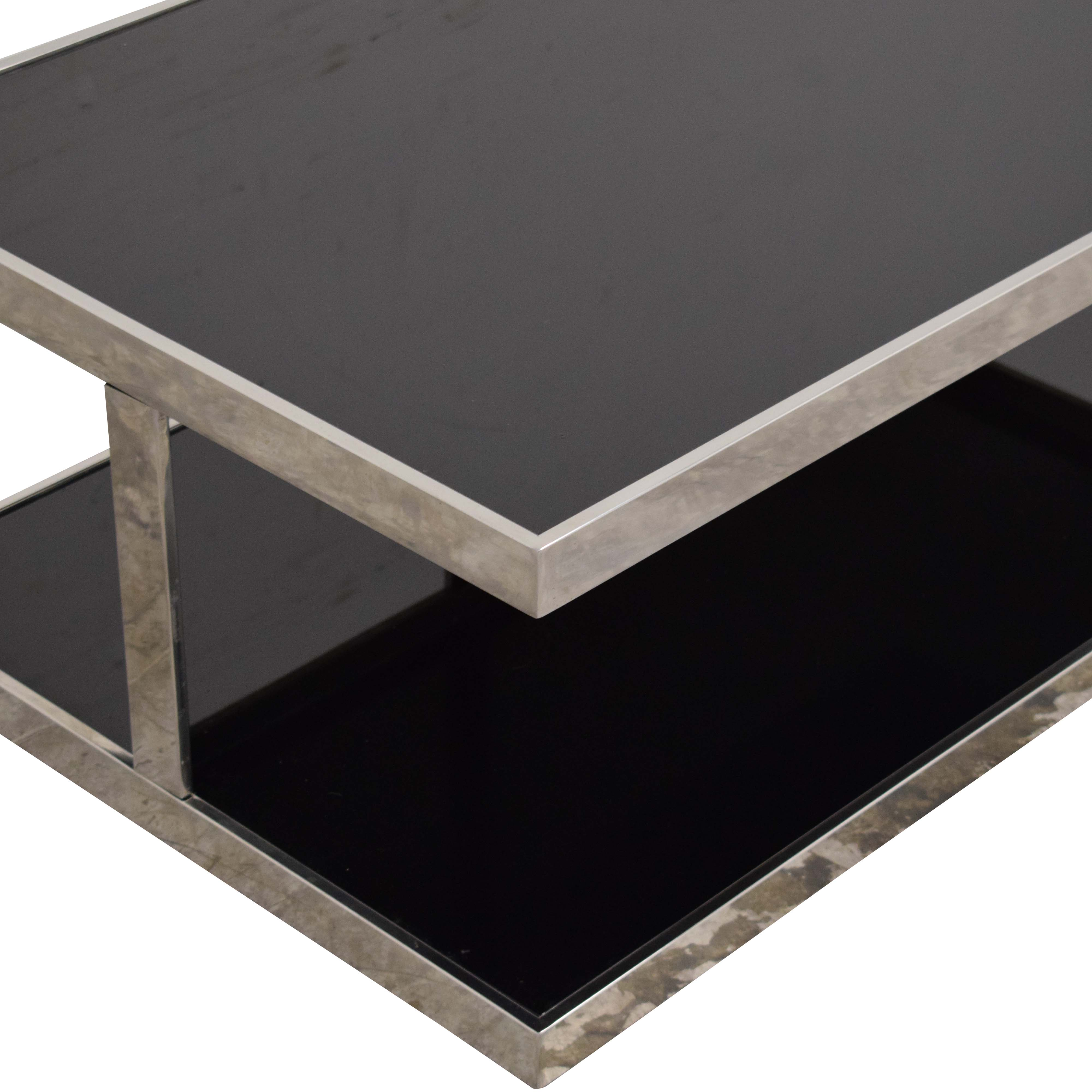 buy Modway Furniture Absorb Black Coffee Table Modway