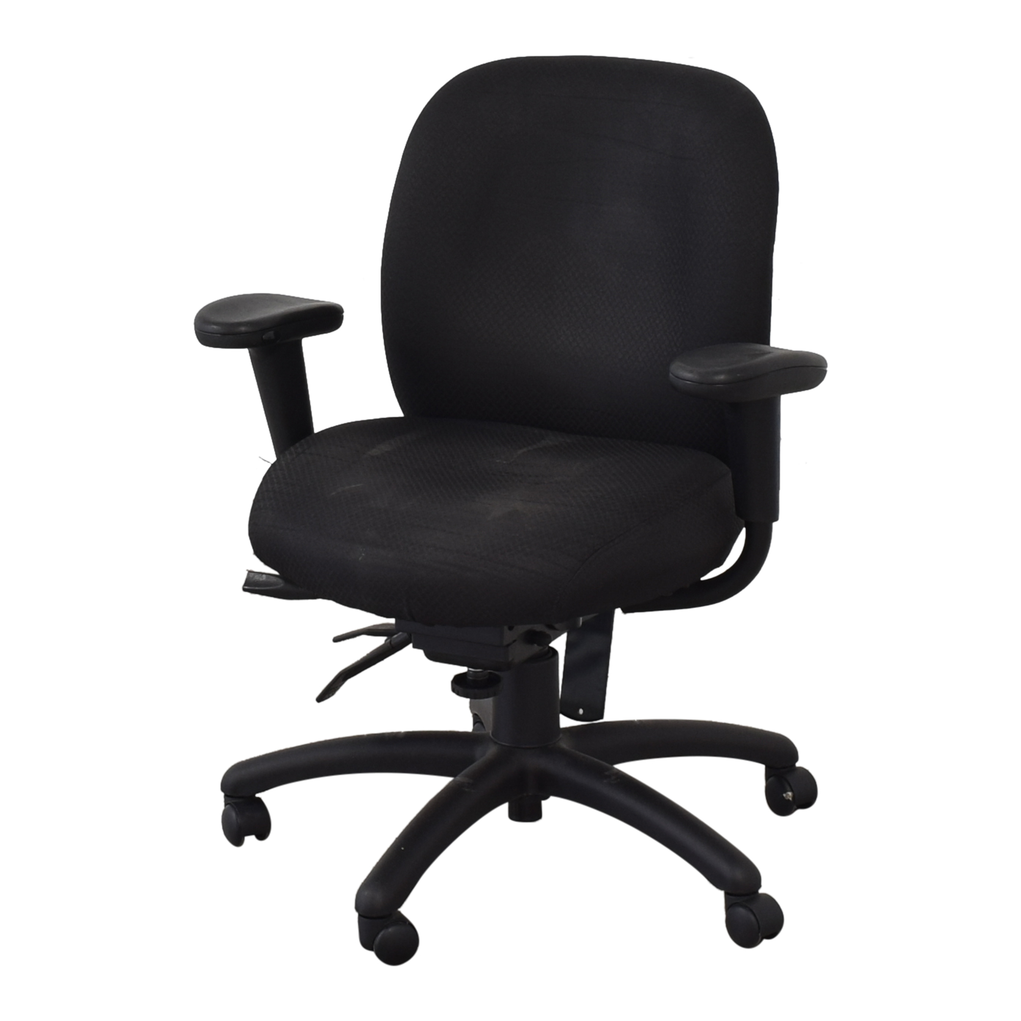Offices to Go Offices to Go Black Quilt Office Chair on sale
