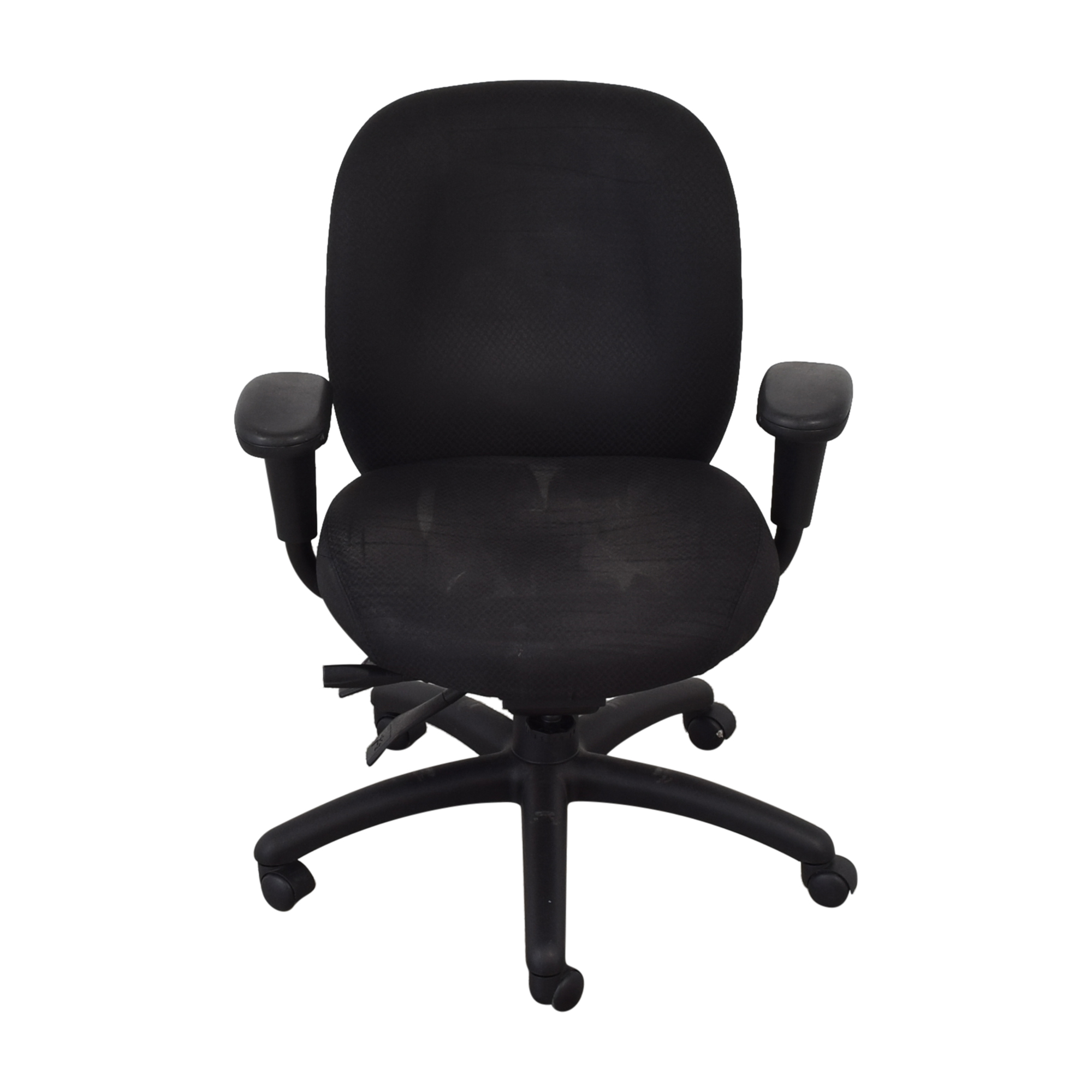 shop Offices to Go Offices to Go Black Quilt Office Chair online