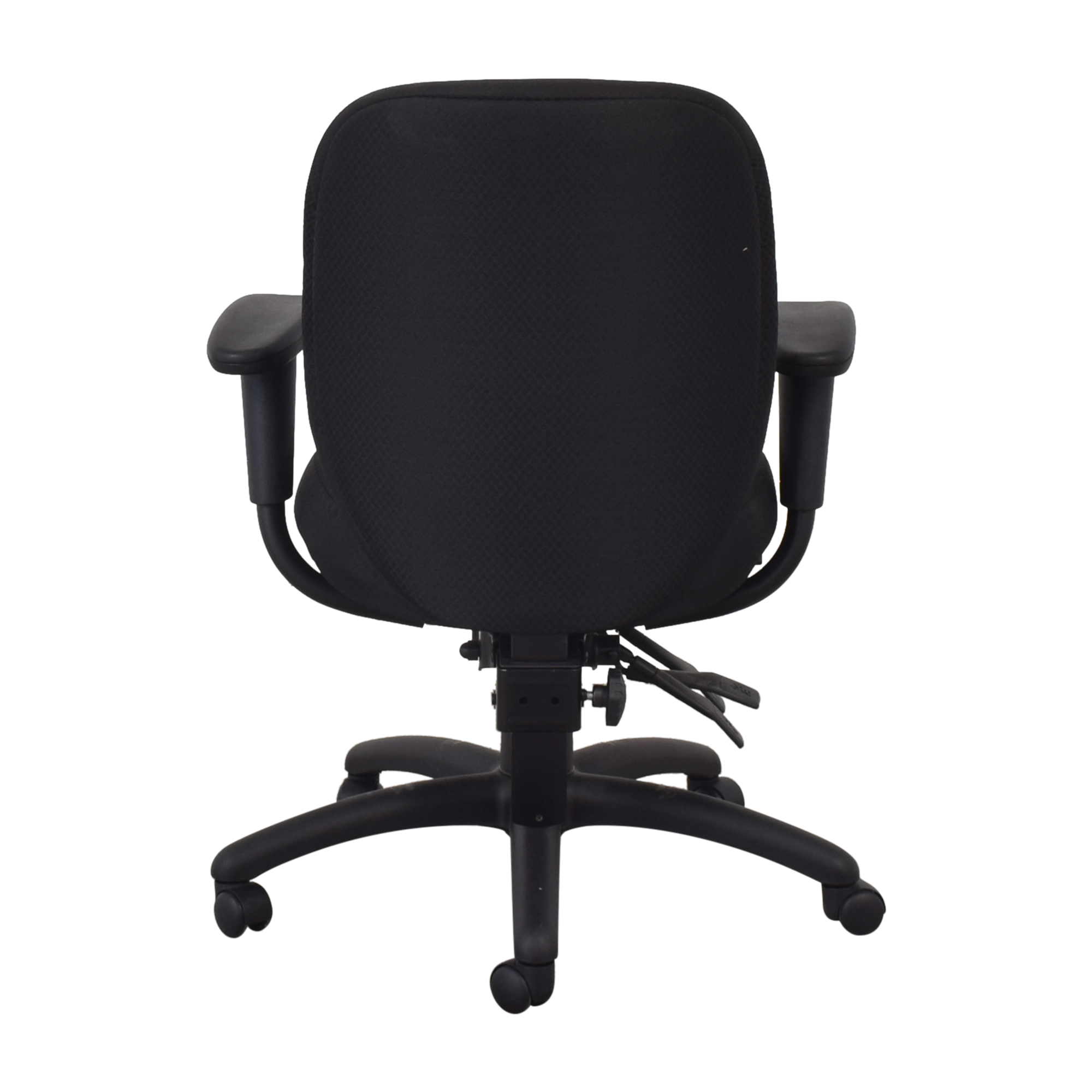 Offices to Go Offices to Go Black Quilt Office Chair nyc