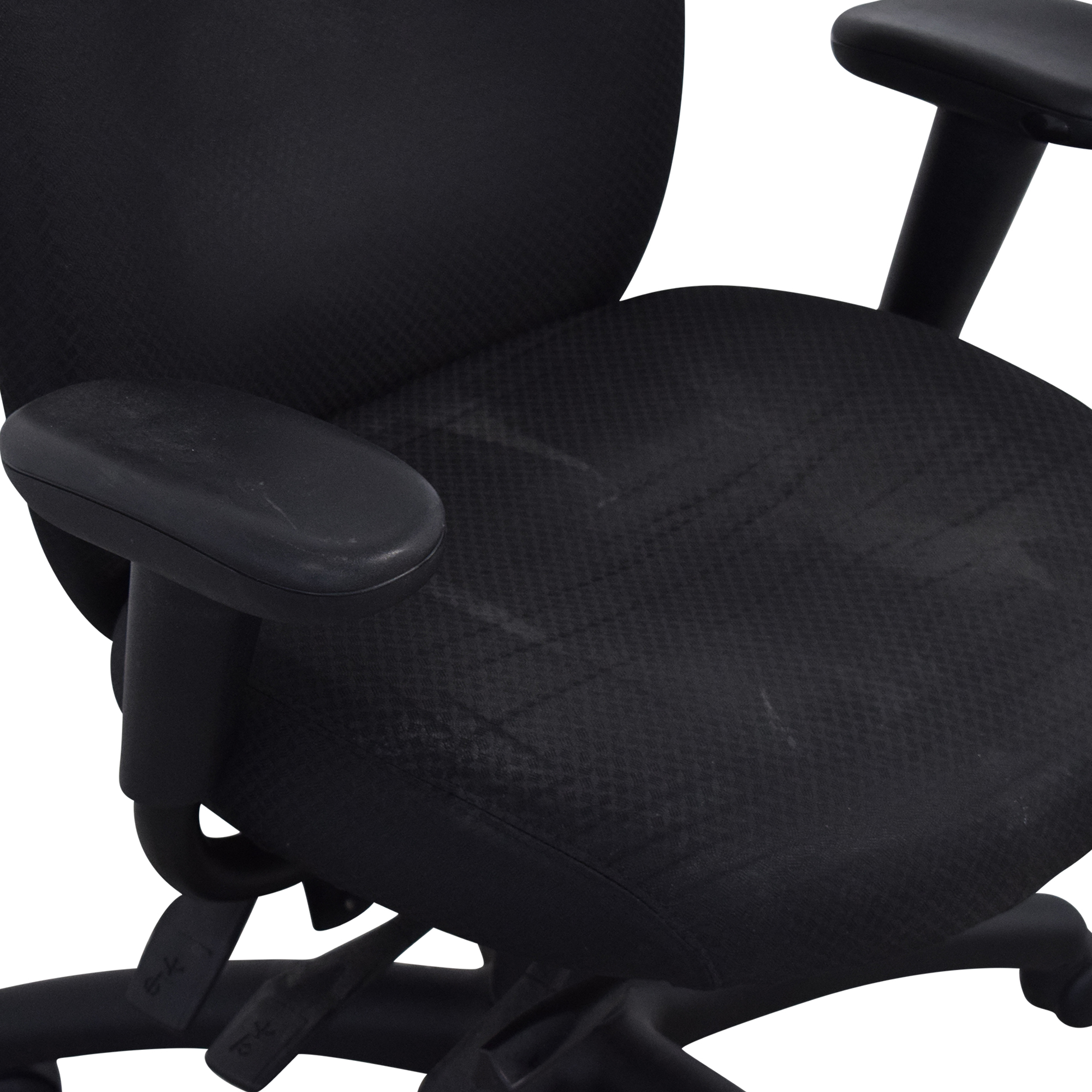 shop Offices to Go Black Quilt Office Chair Offices to Go Chairs