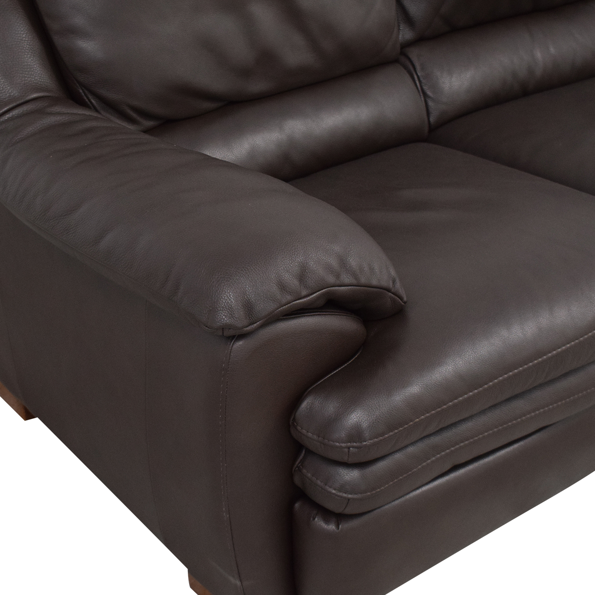 Raymour & Flanigan Raymour & Flanigan Natuzzi Reclining Sofa for sale