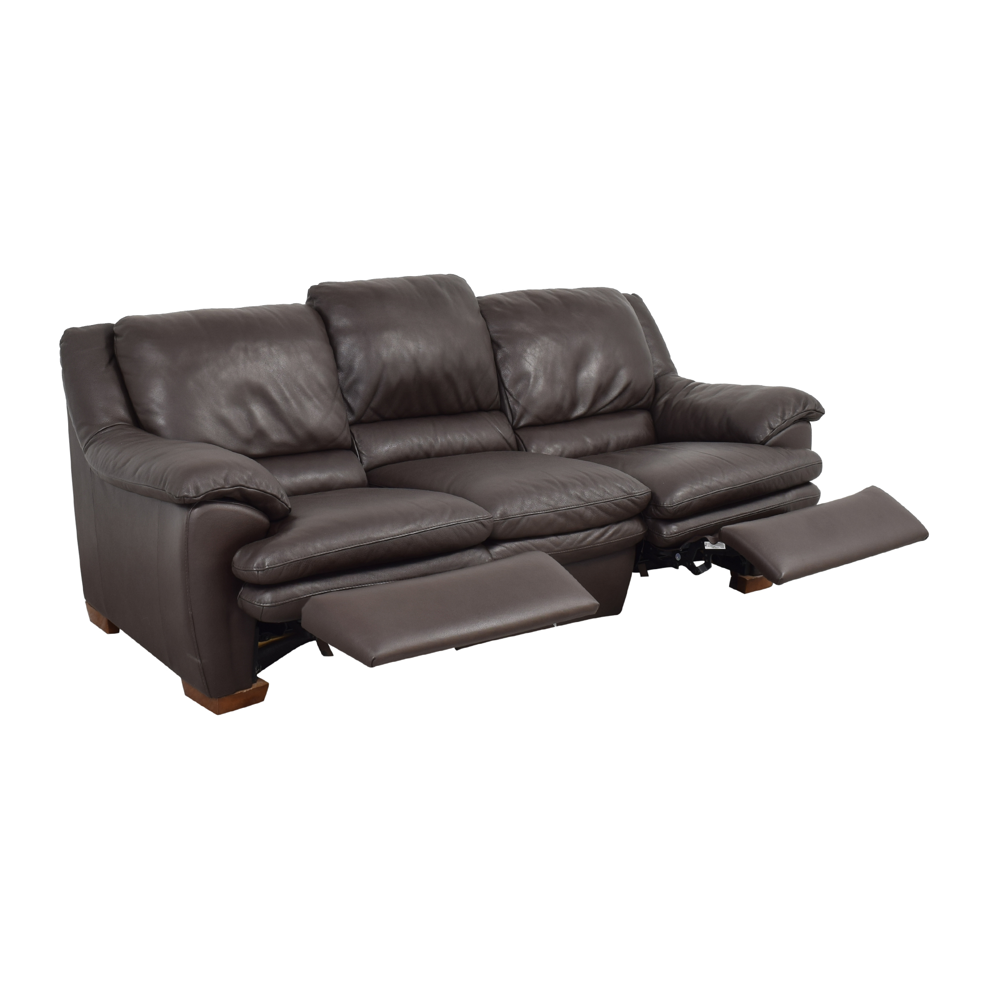 Raymour & Flanigan Raymour & Flanigan Natuzzi Reclining Sofa on sale