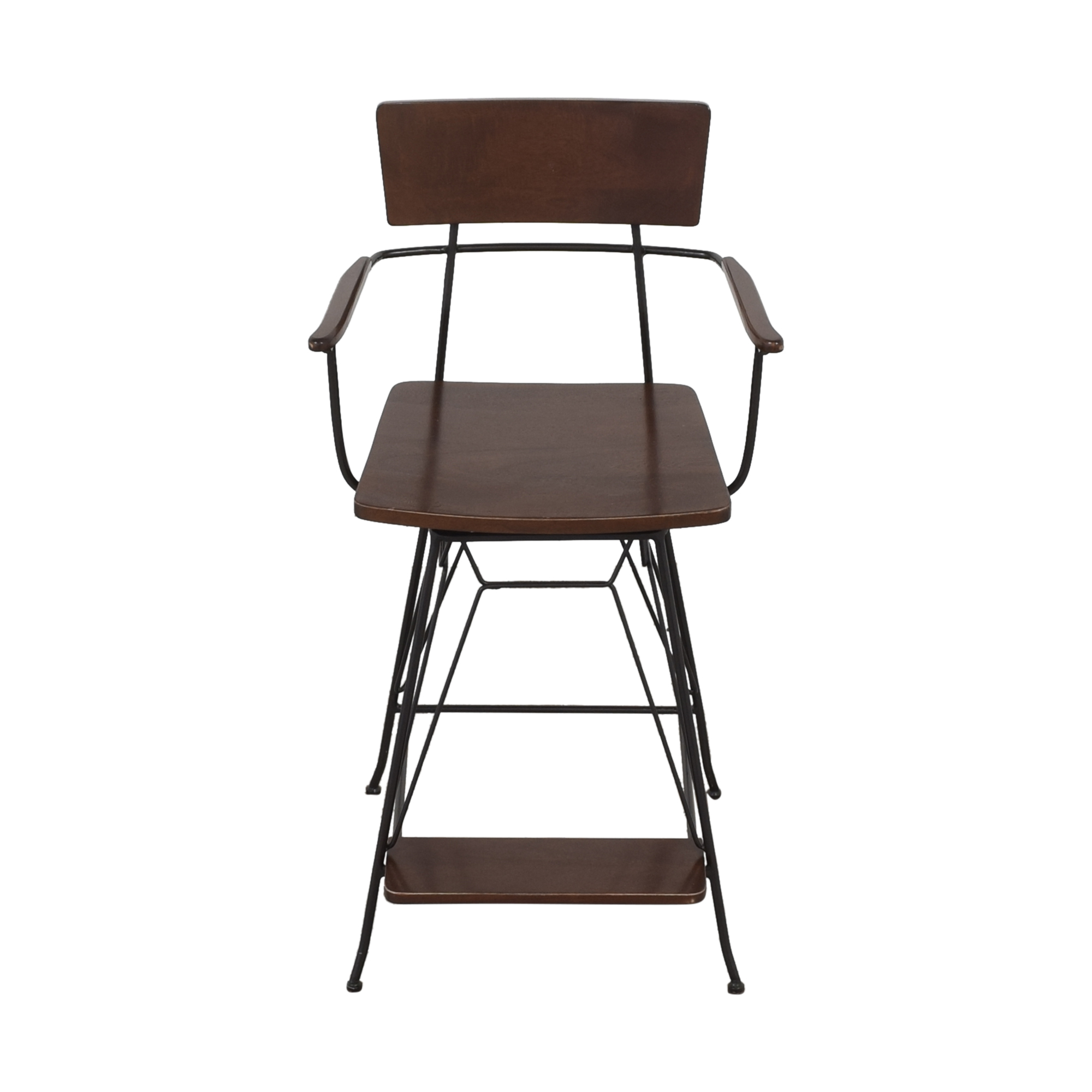 Crate & Barrel Elston Swivel Bar Stool / Chairs