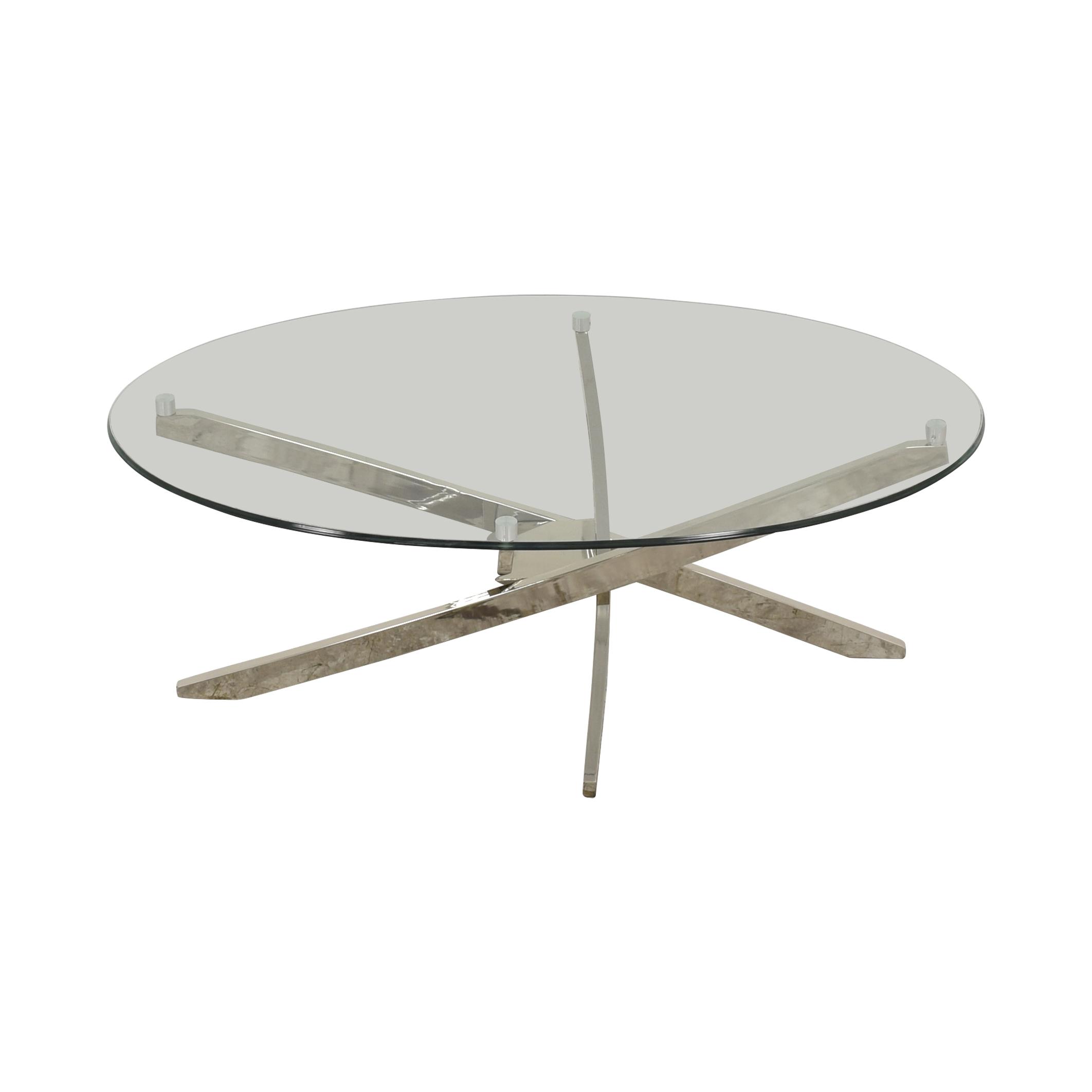 Magnussen Home Magnussen Zila Oval Coffee Table discount