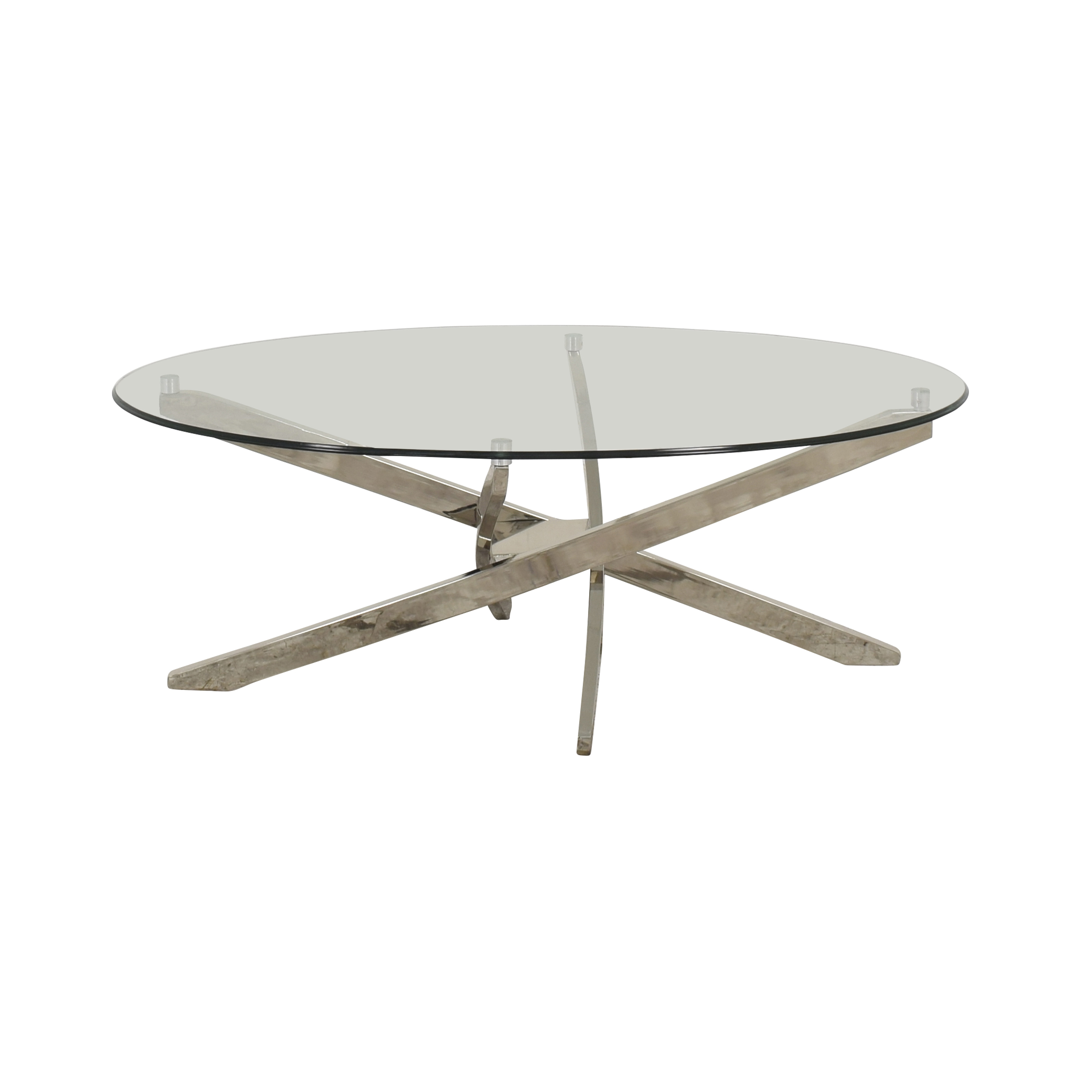 - 30% OFF - Magnussen Home Magnussen Zila Oval Coffee Table / Tables