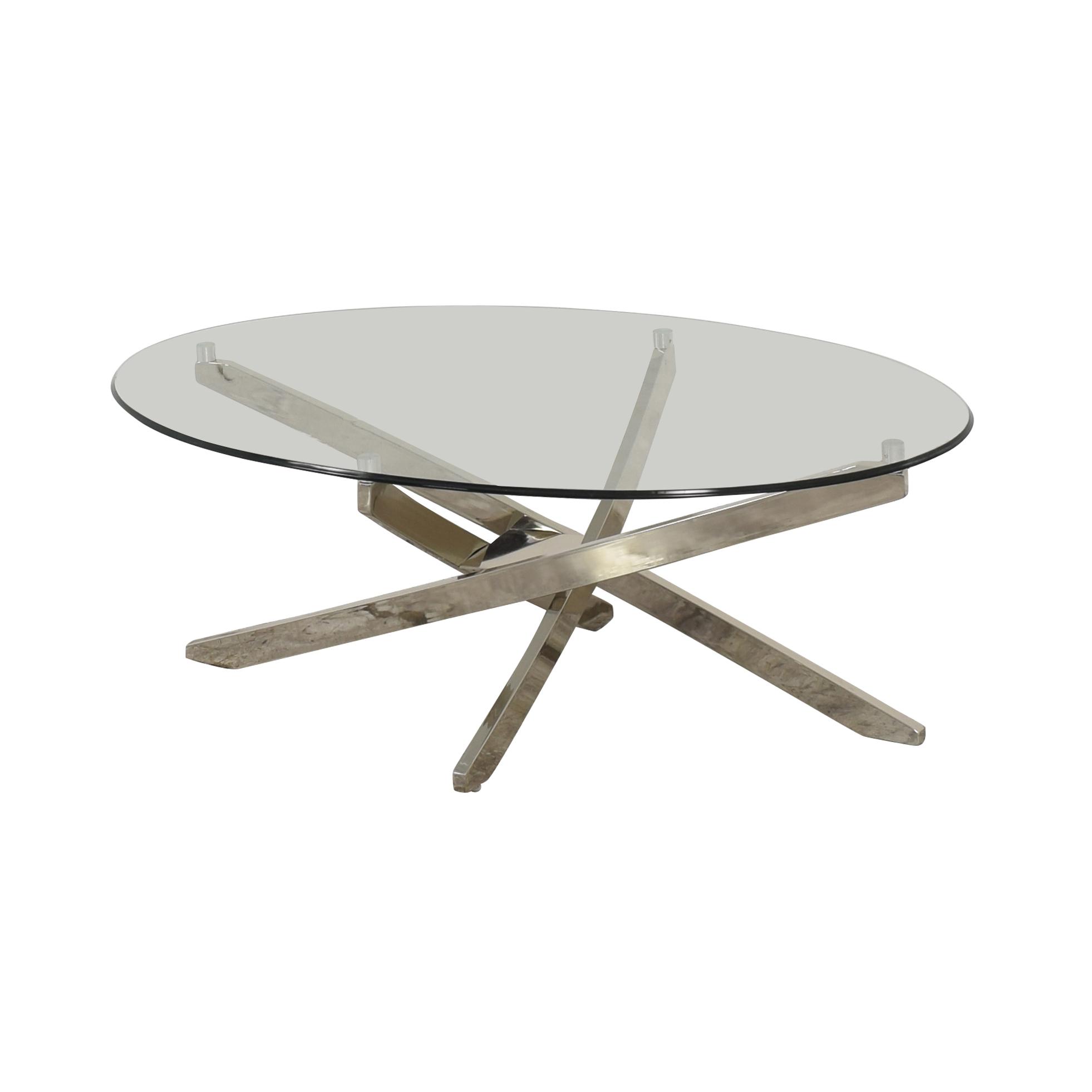 Magnussen Zila Oval Coffee Table Magnussen Home