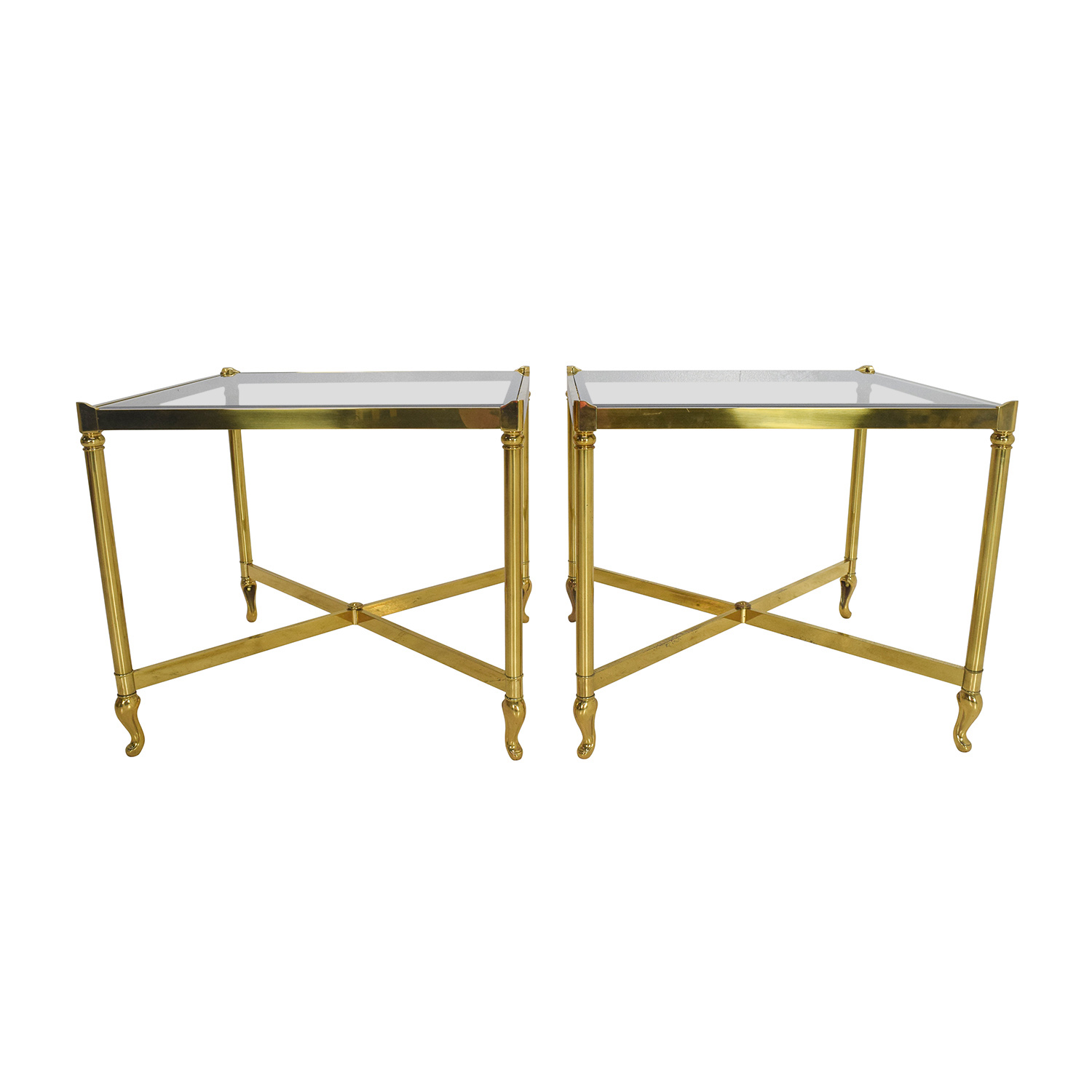 buy Antique Brass Side Tables Antique End Tables