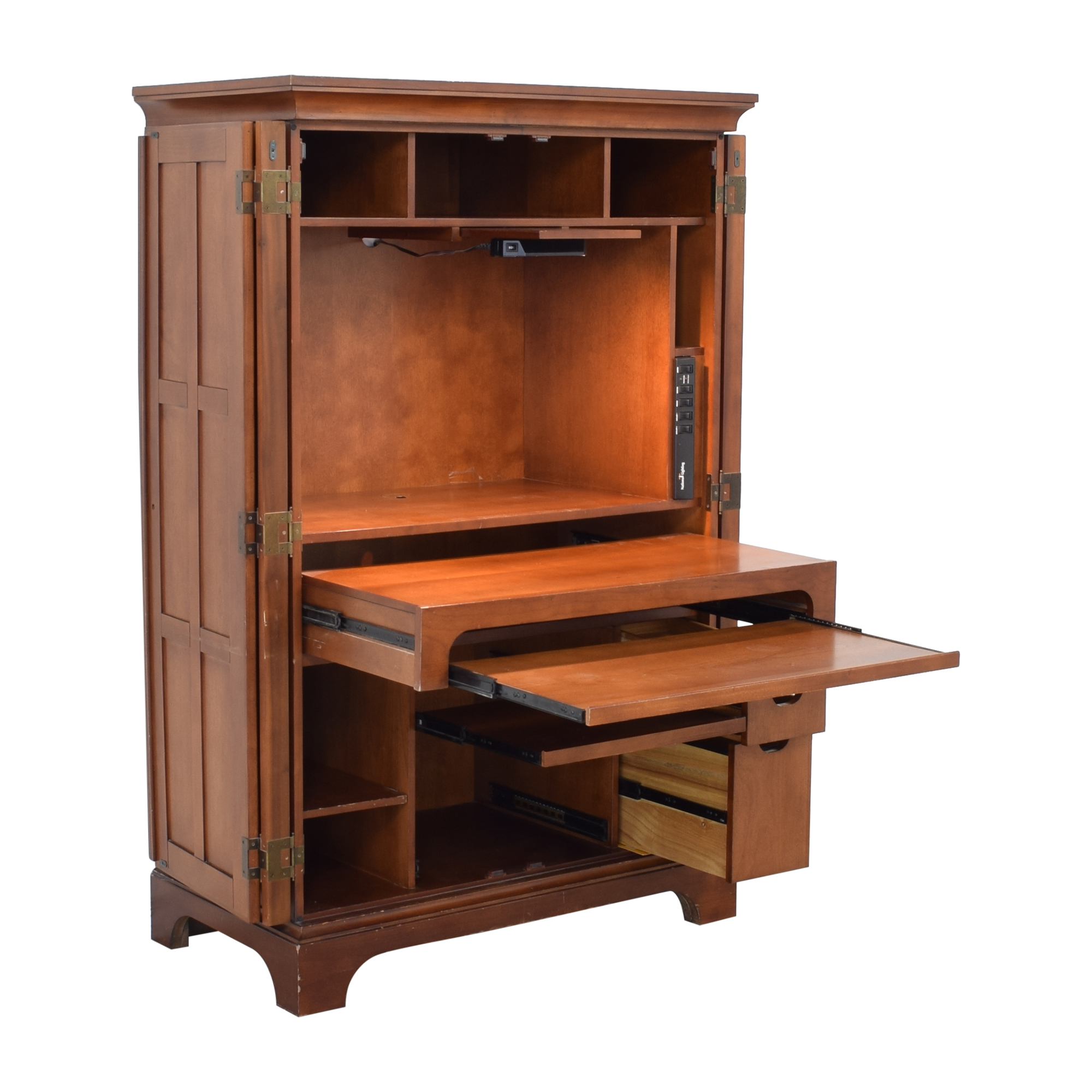 77 Off Computer Armoire Storage