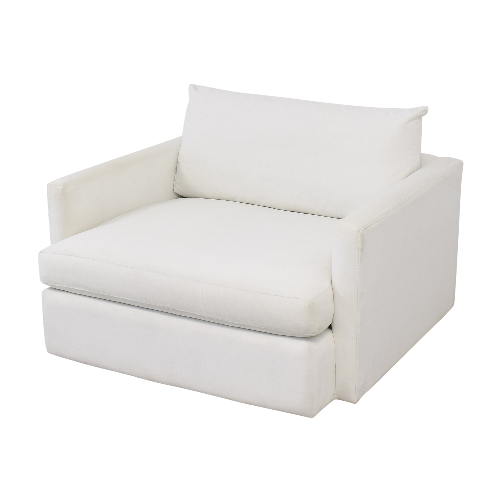 Crate & Barrel Crate & Barrel Lounge ii Chair and Half Loveseats