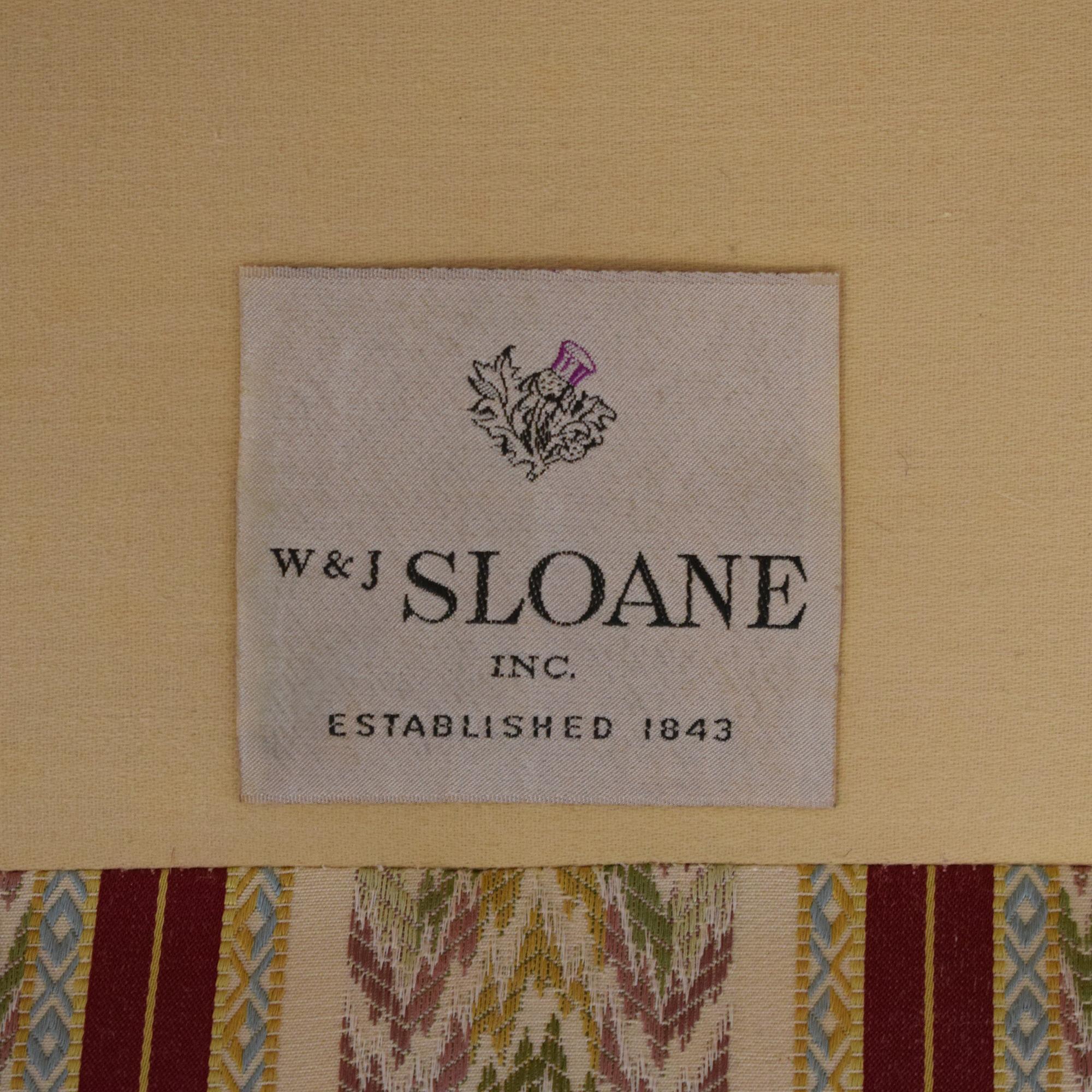 W. & J. Sloane W & J Sloane Single Cushion Sofa second hand