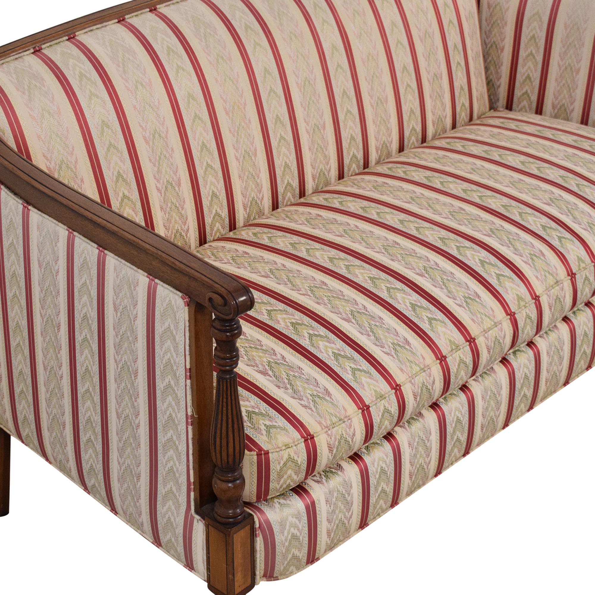 W & J Sloane Single Cushion Sofa W. & J. Sloane