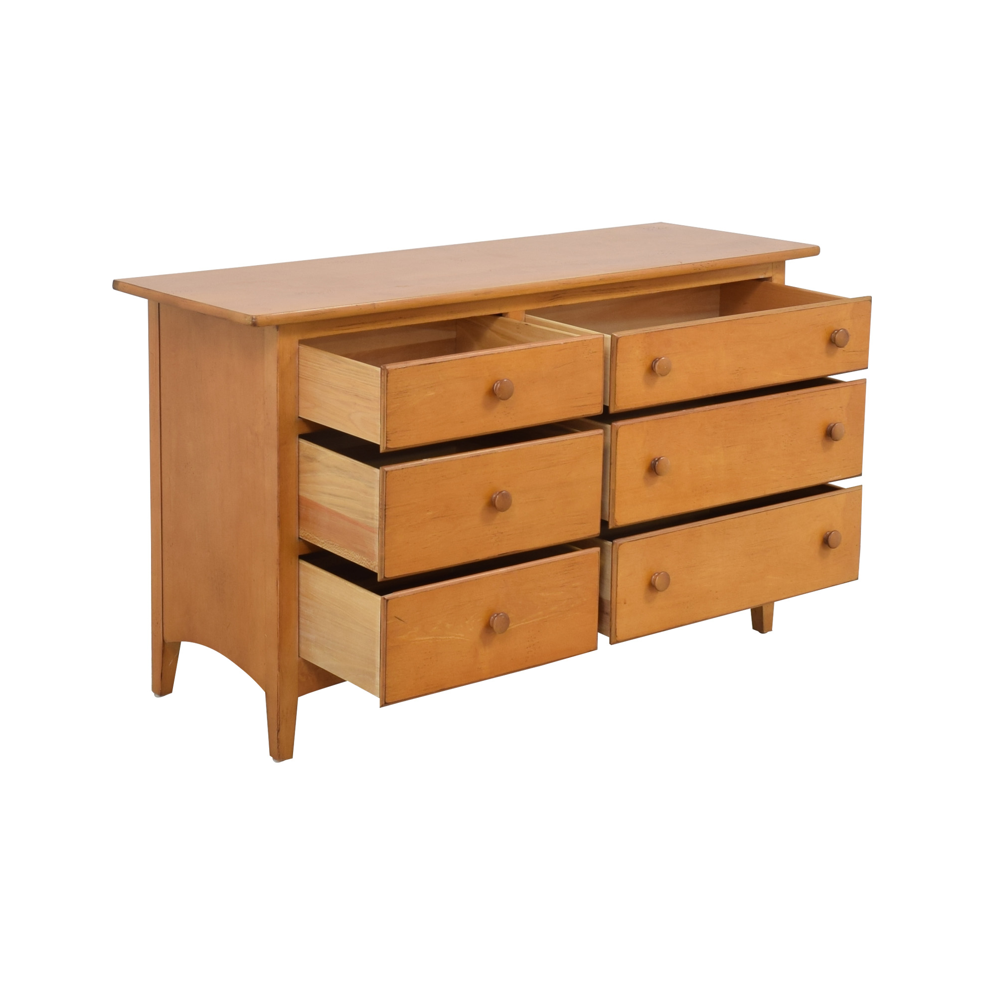 shop Drexel Asymmetrical Six Drawer Dresser Drexel Dressers