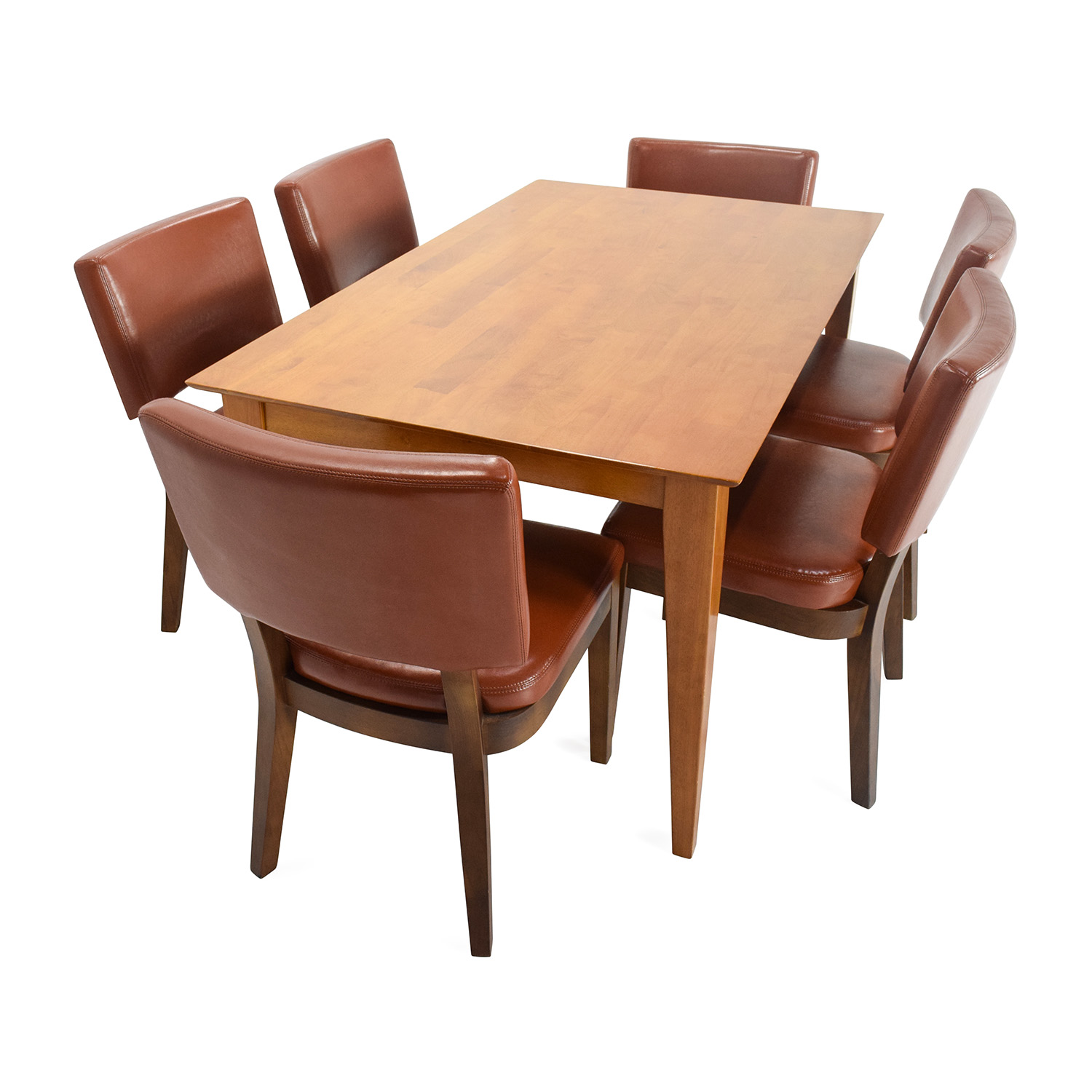 Market dining room table 85 off cost plus world market for Table 85 restaurant