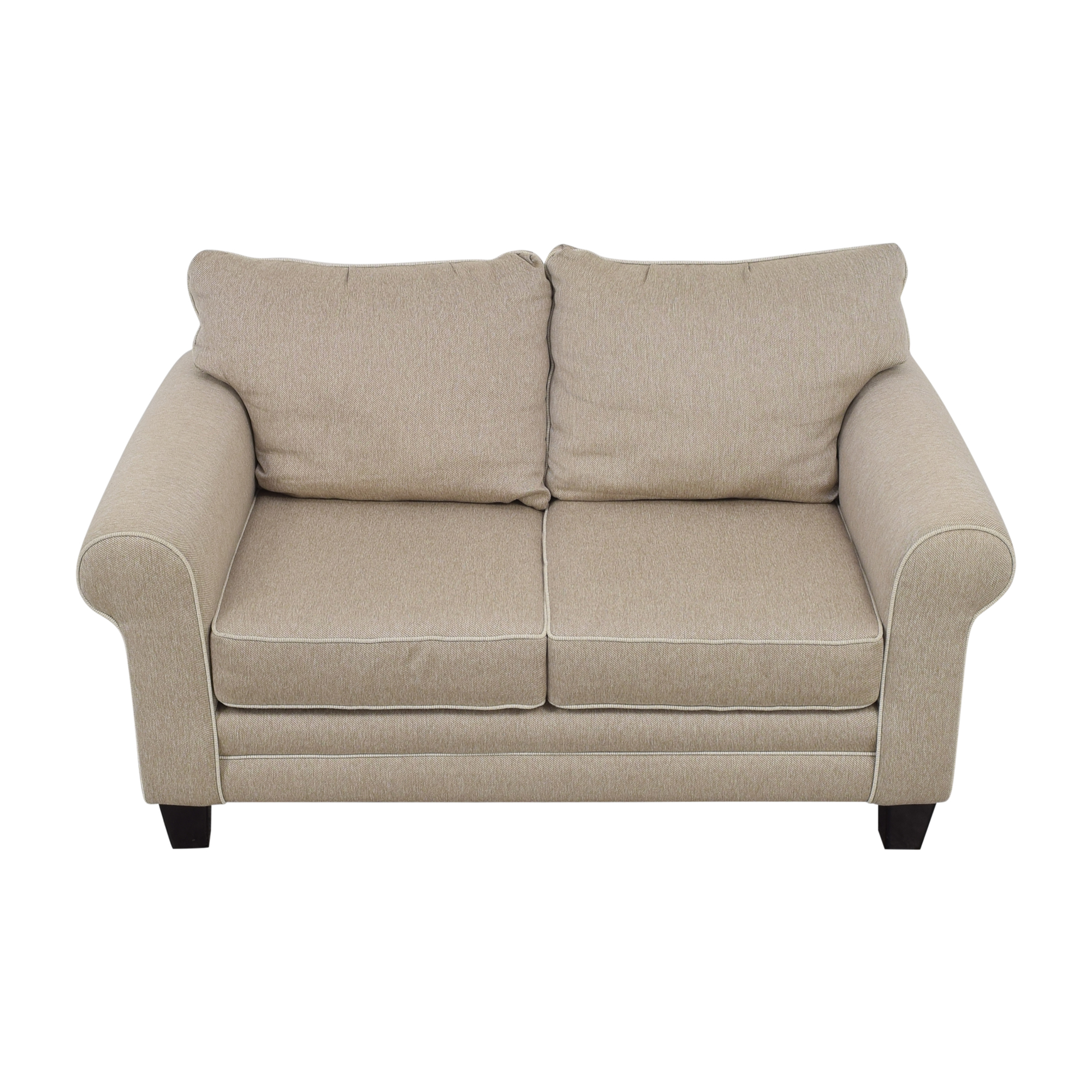 shop Raymour & Flanigan Raymour & Flanigan Beige Loveseat online