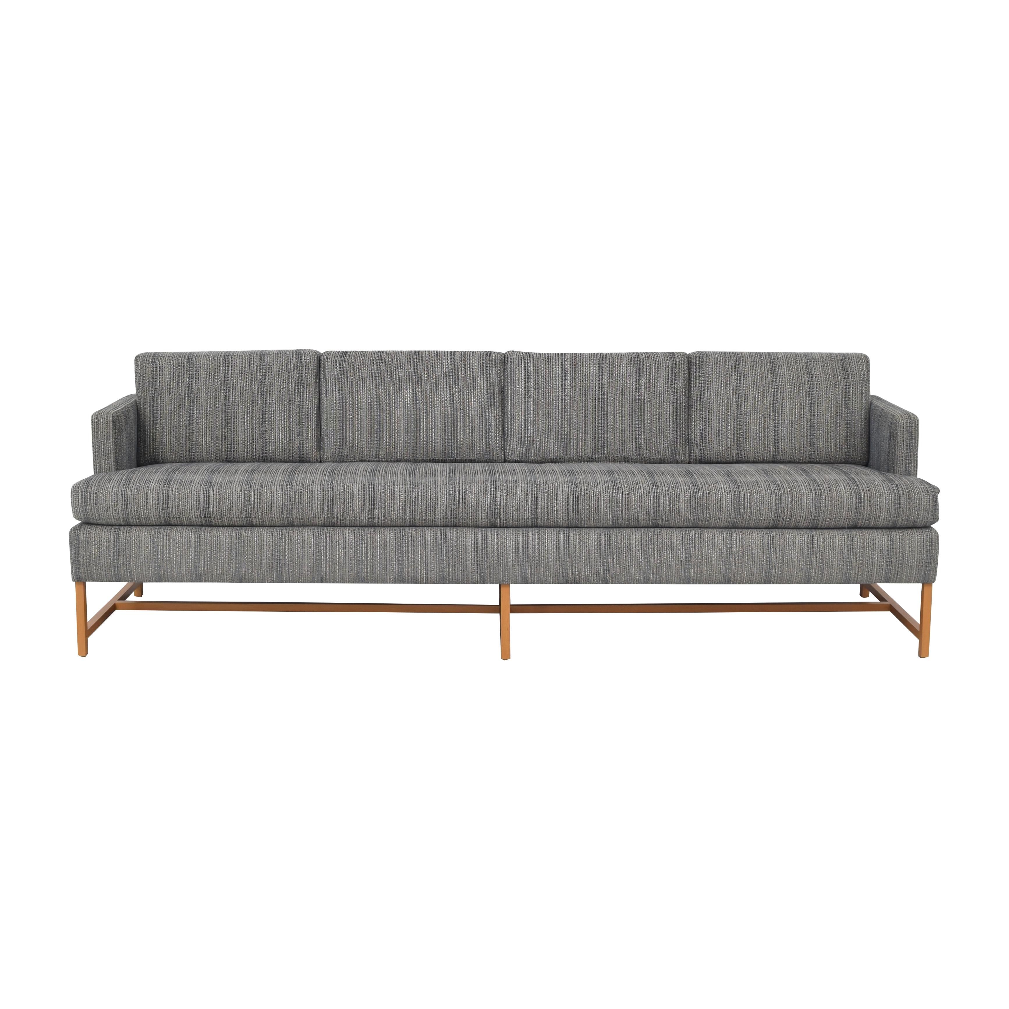 Wide Single Cushion Sofa nj