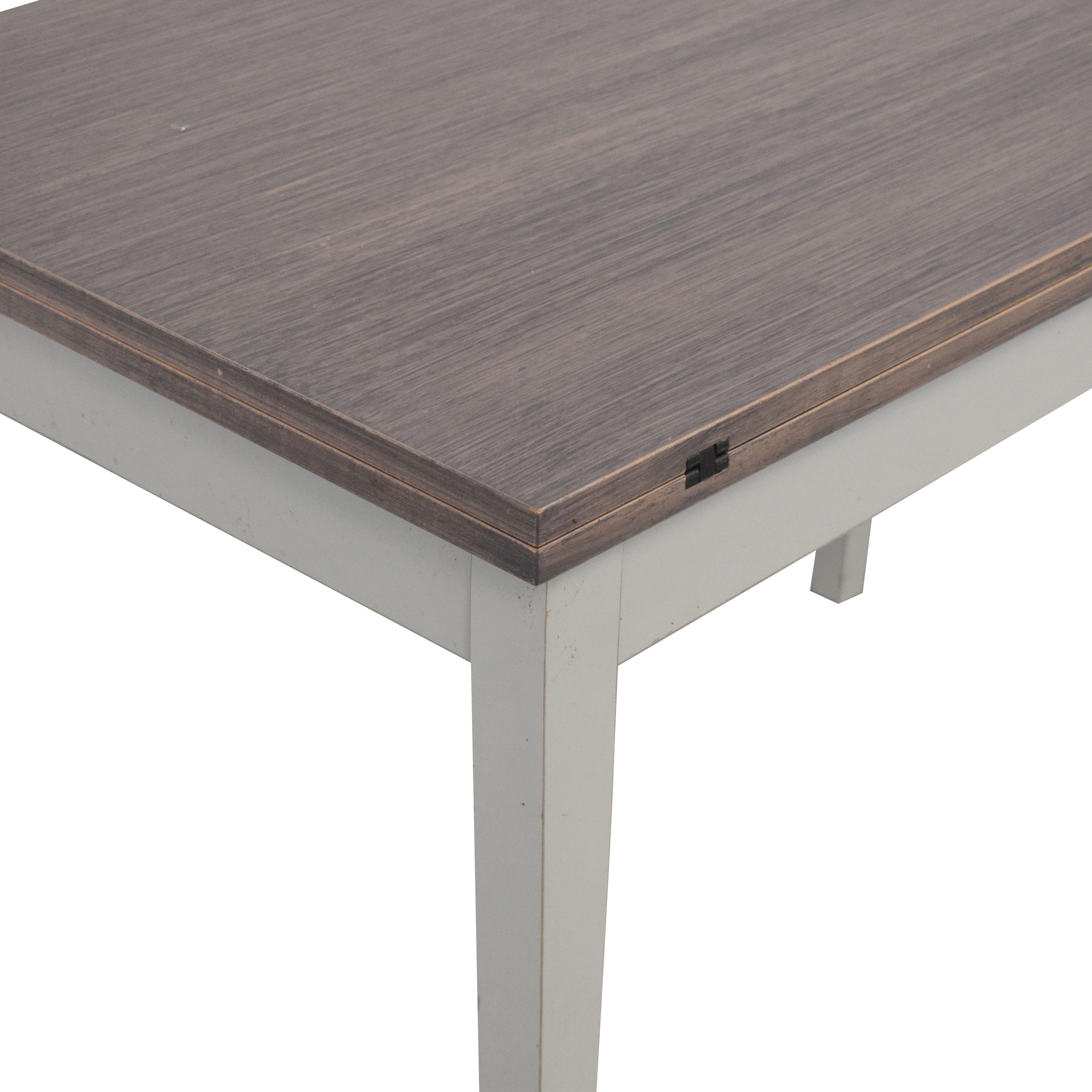 buy Crate & Barrel Flip Table Crate & Barrel Tables
