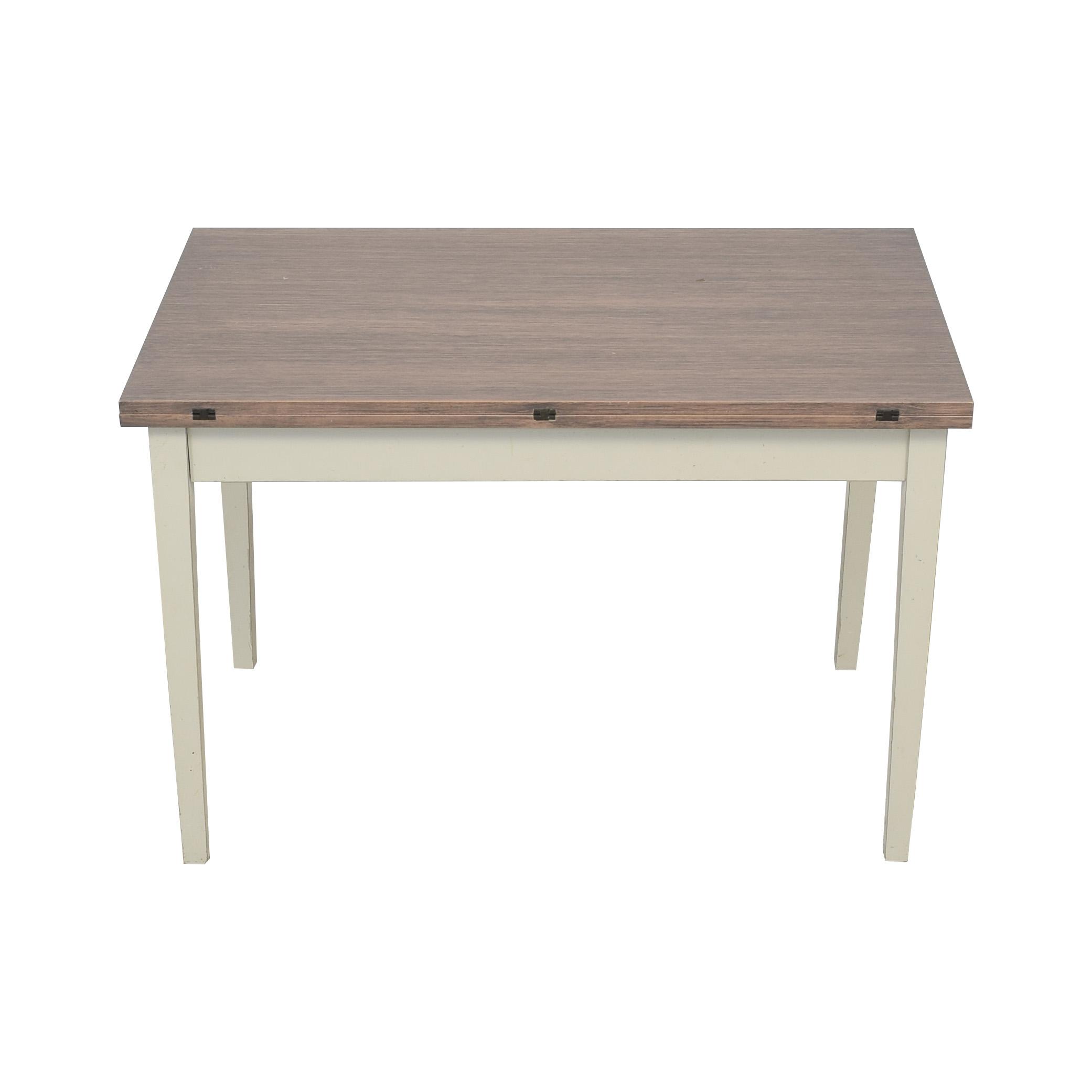 Crate & Barrel Crate & Barrel Flip Table used