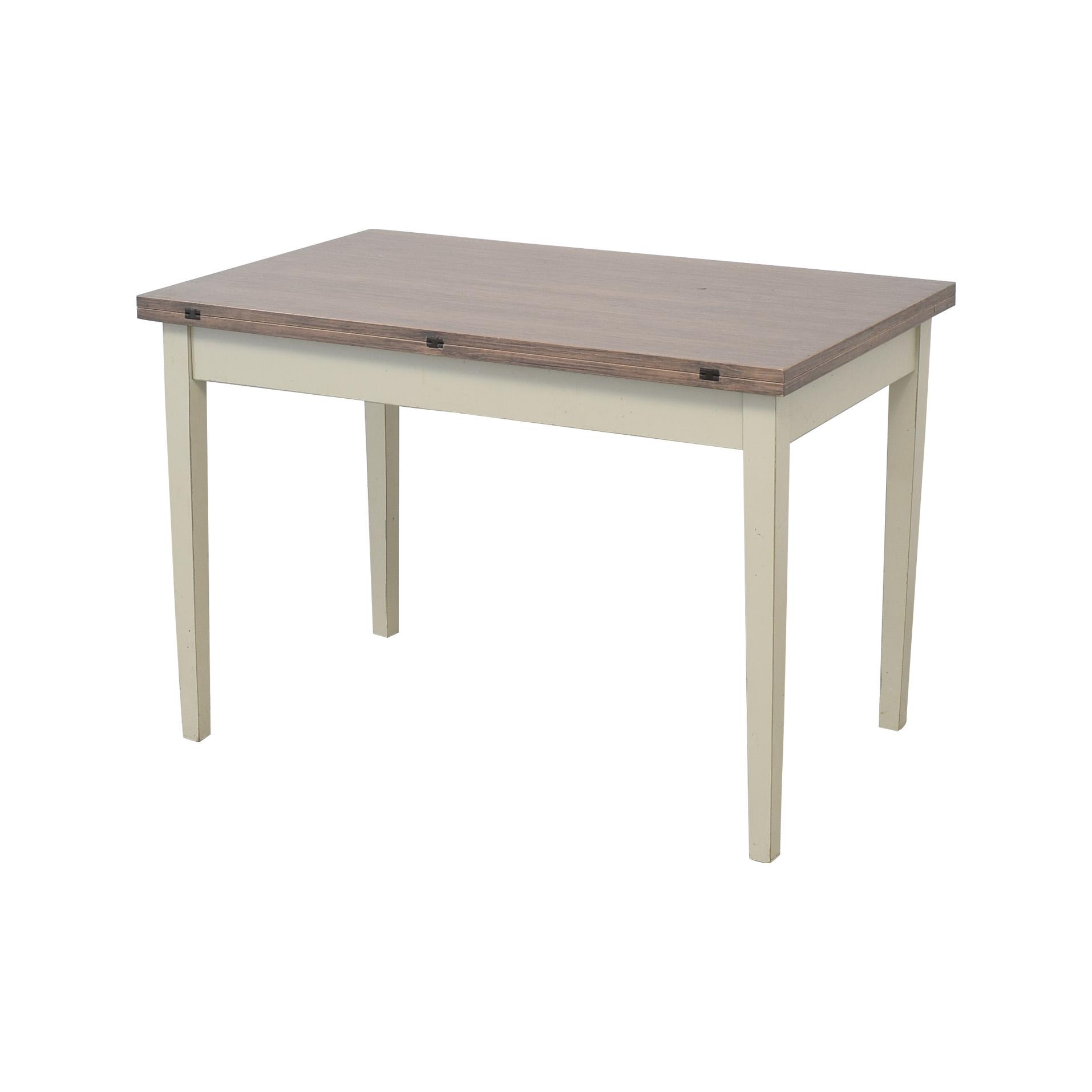 Crate & Barrel Crate & Barrel Flip Table dimensions
