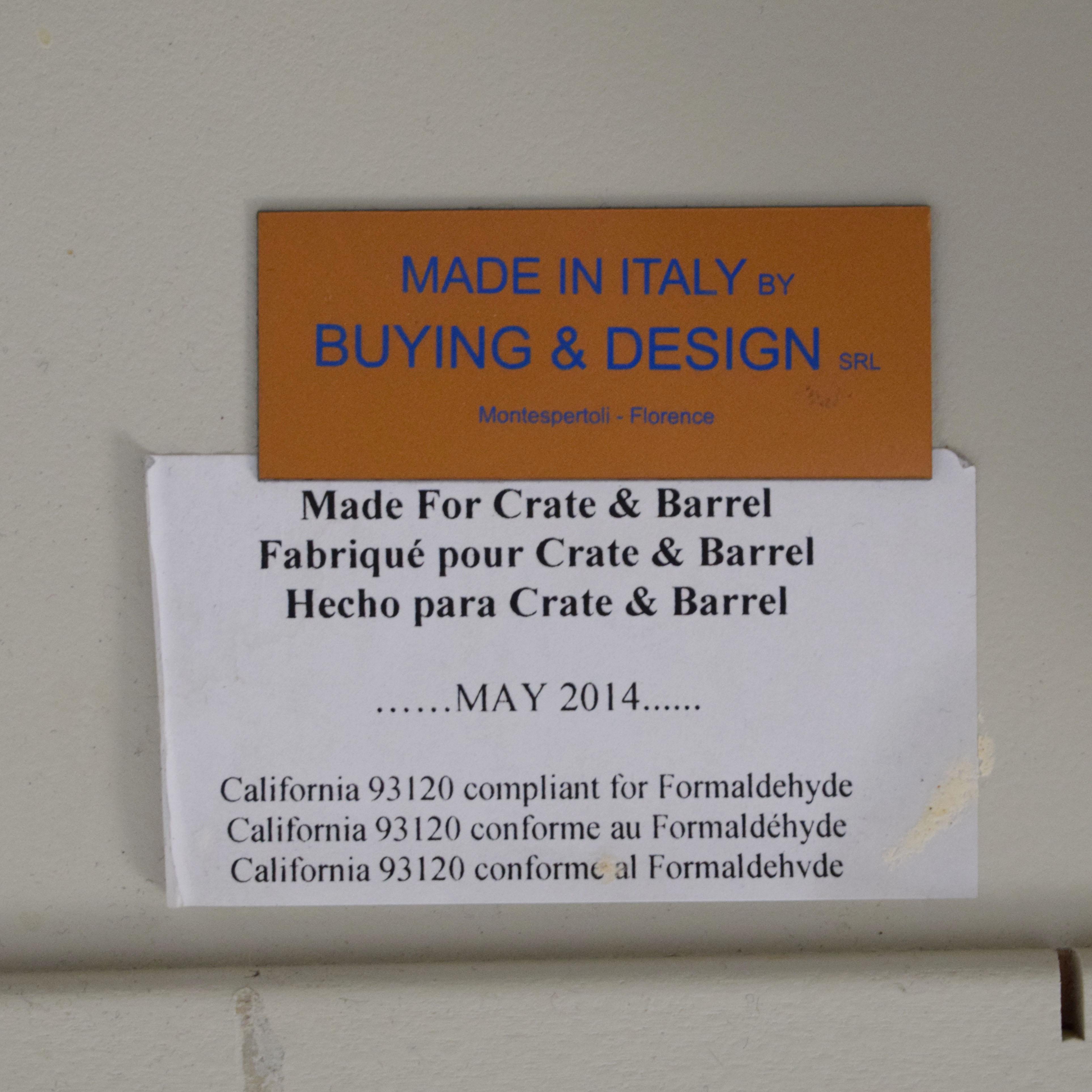 Crate & Barrel Crate & Barrel Flip Table nj