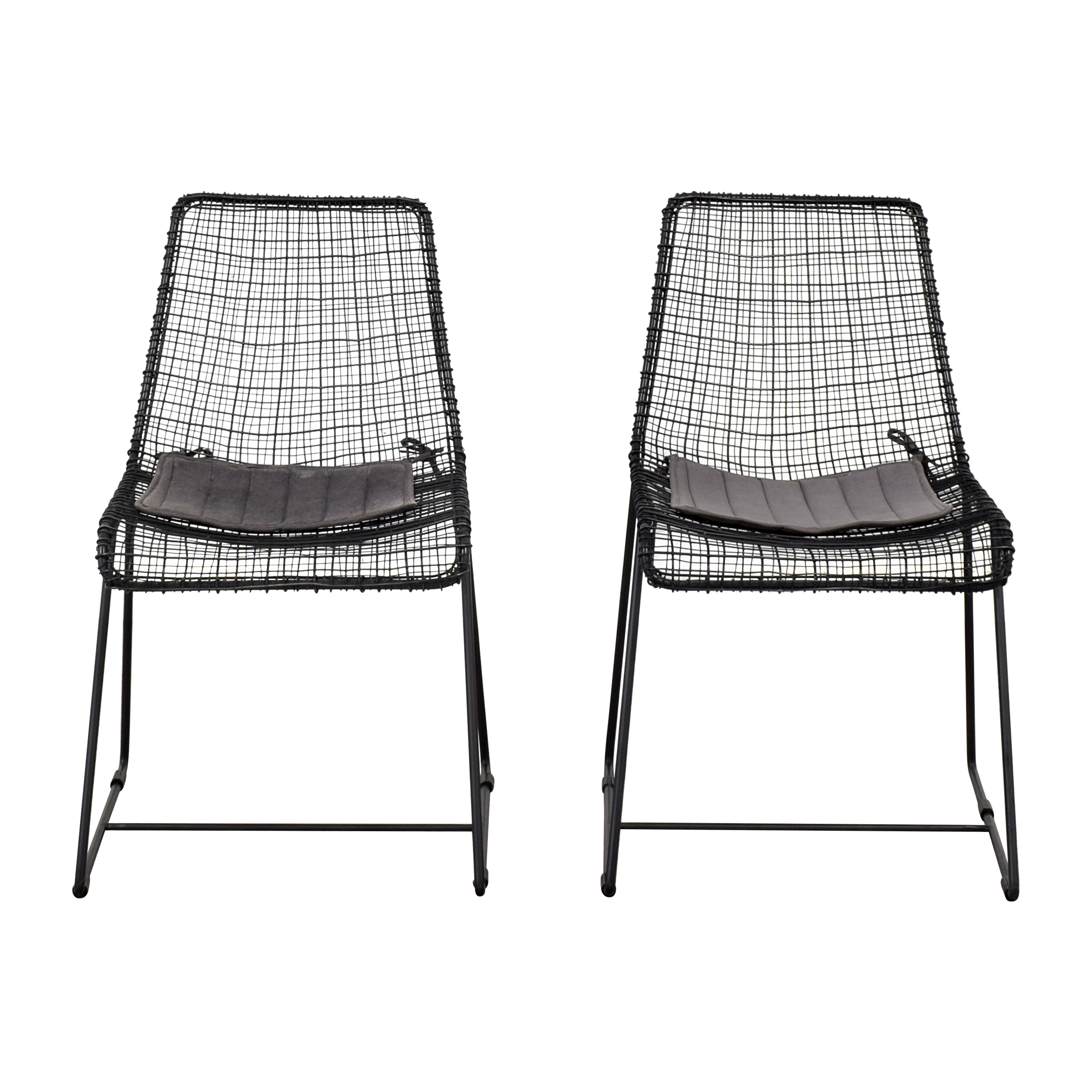 buy CB2 CB2 Reed Dining Chairs online