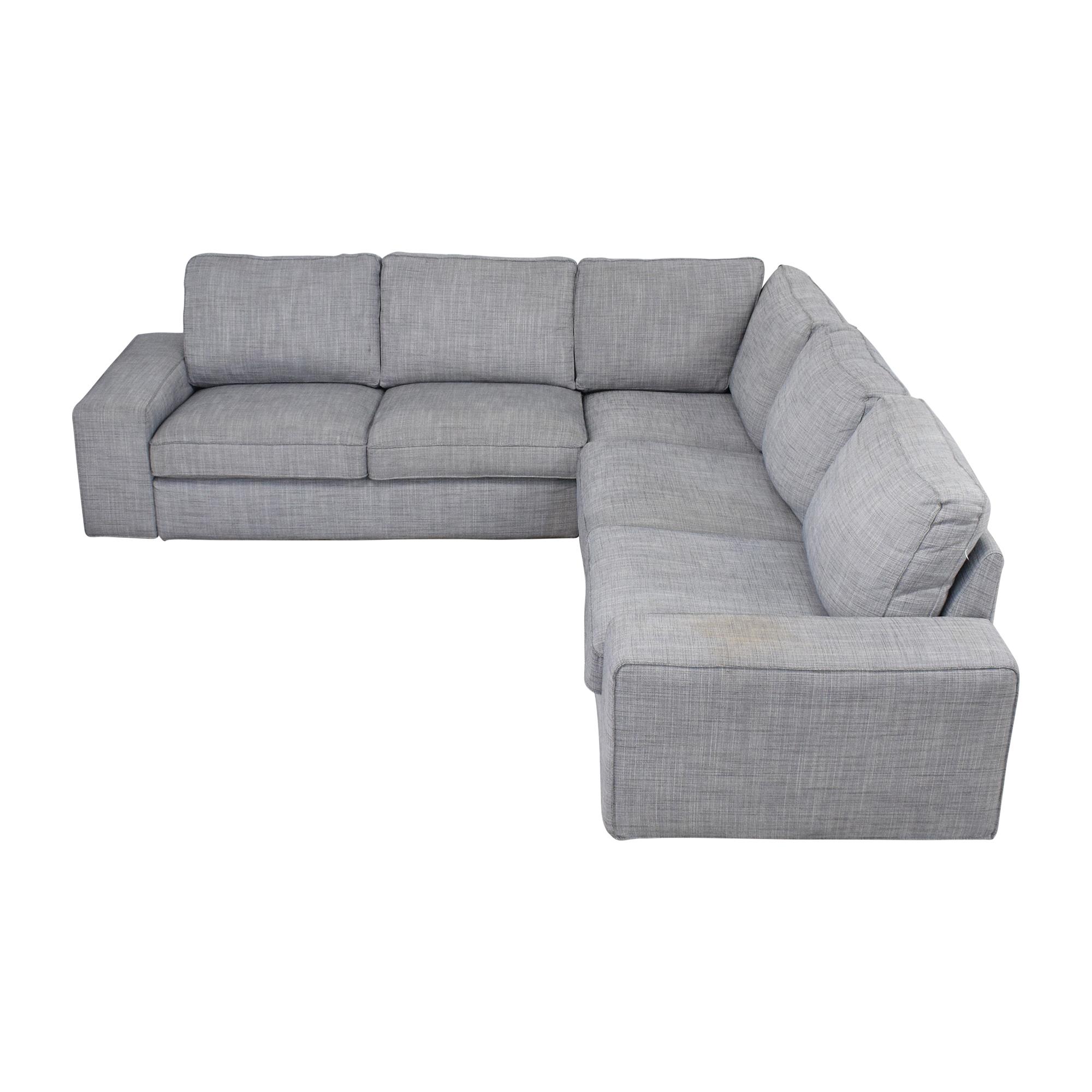 Berkline Leather Couch