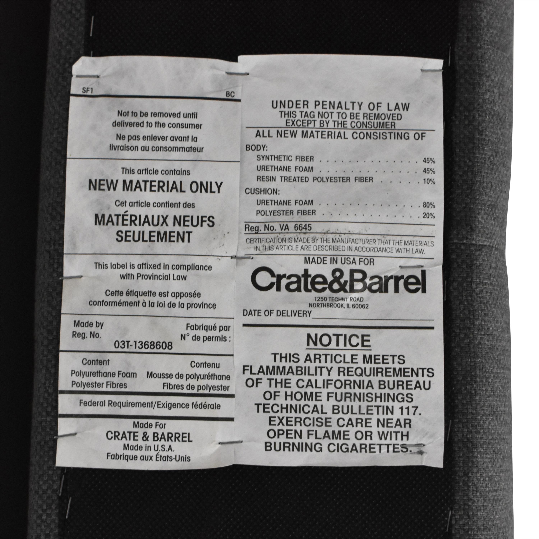 shop Crate & Barrel Tate 38 King Bed Crate & Barrel Beds