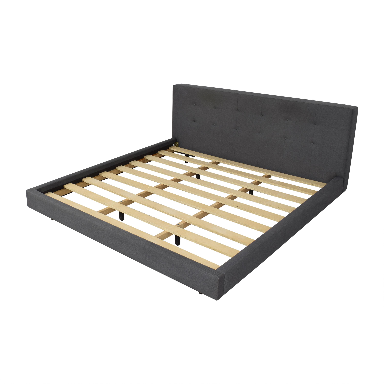 Crate & Barrel Tate 38 King Bed / Bed Frames