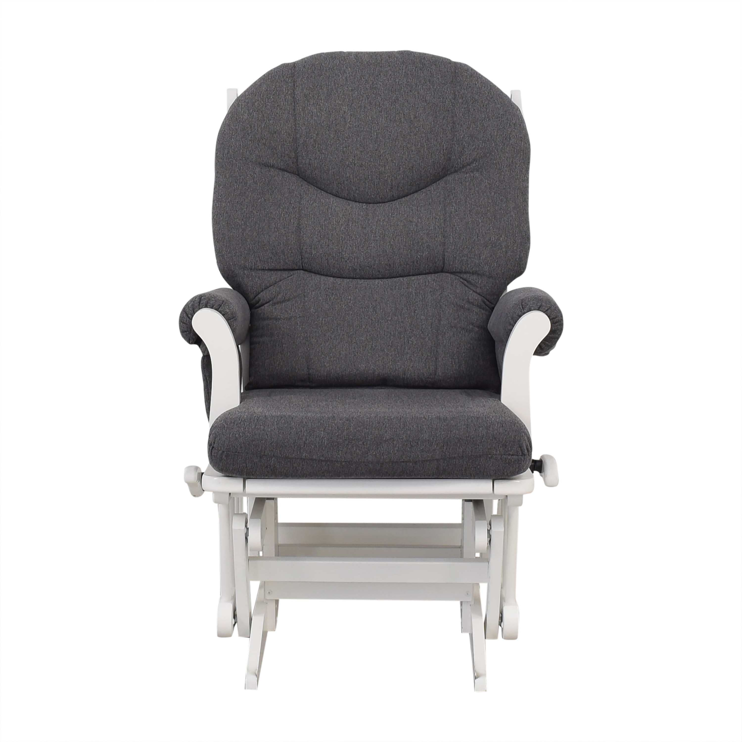 Dutailier Dutailier Multi-Position Reclining Sleigh Glider and Nursing Ottoman dimensions