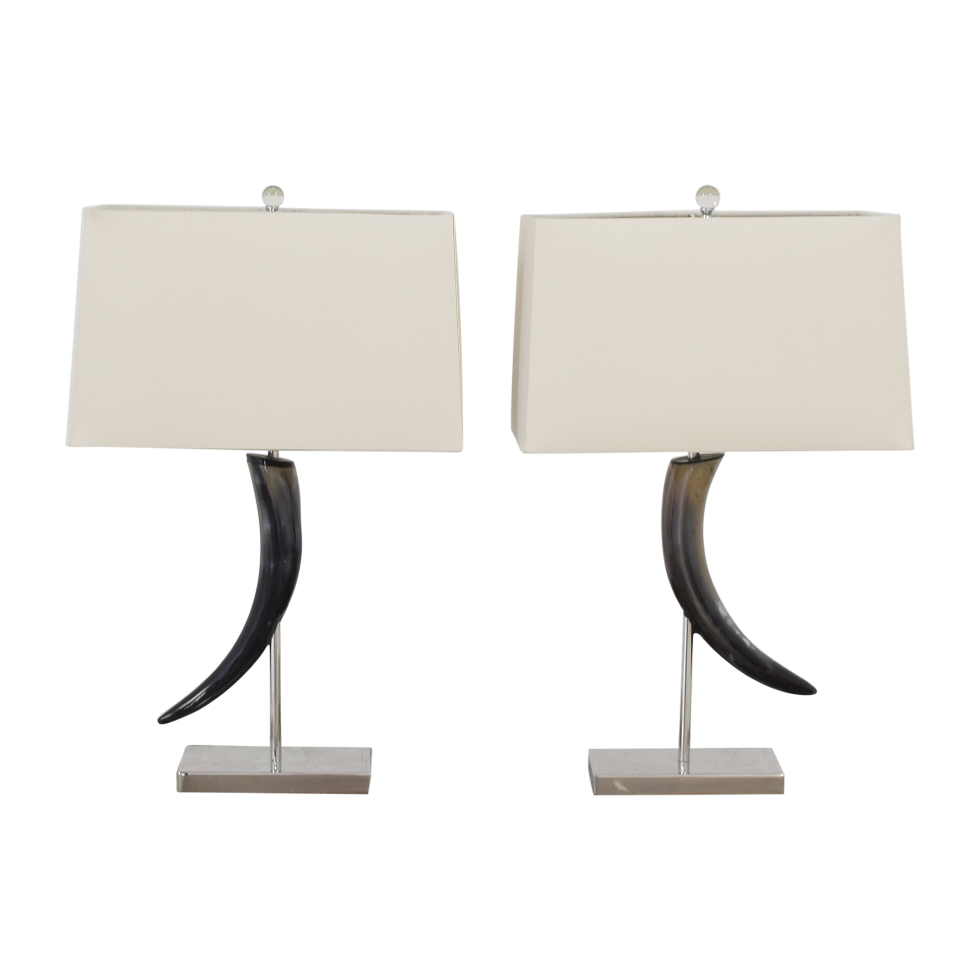 Horn Table Lamps