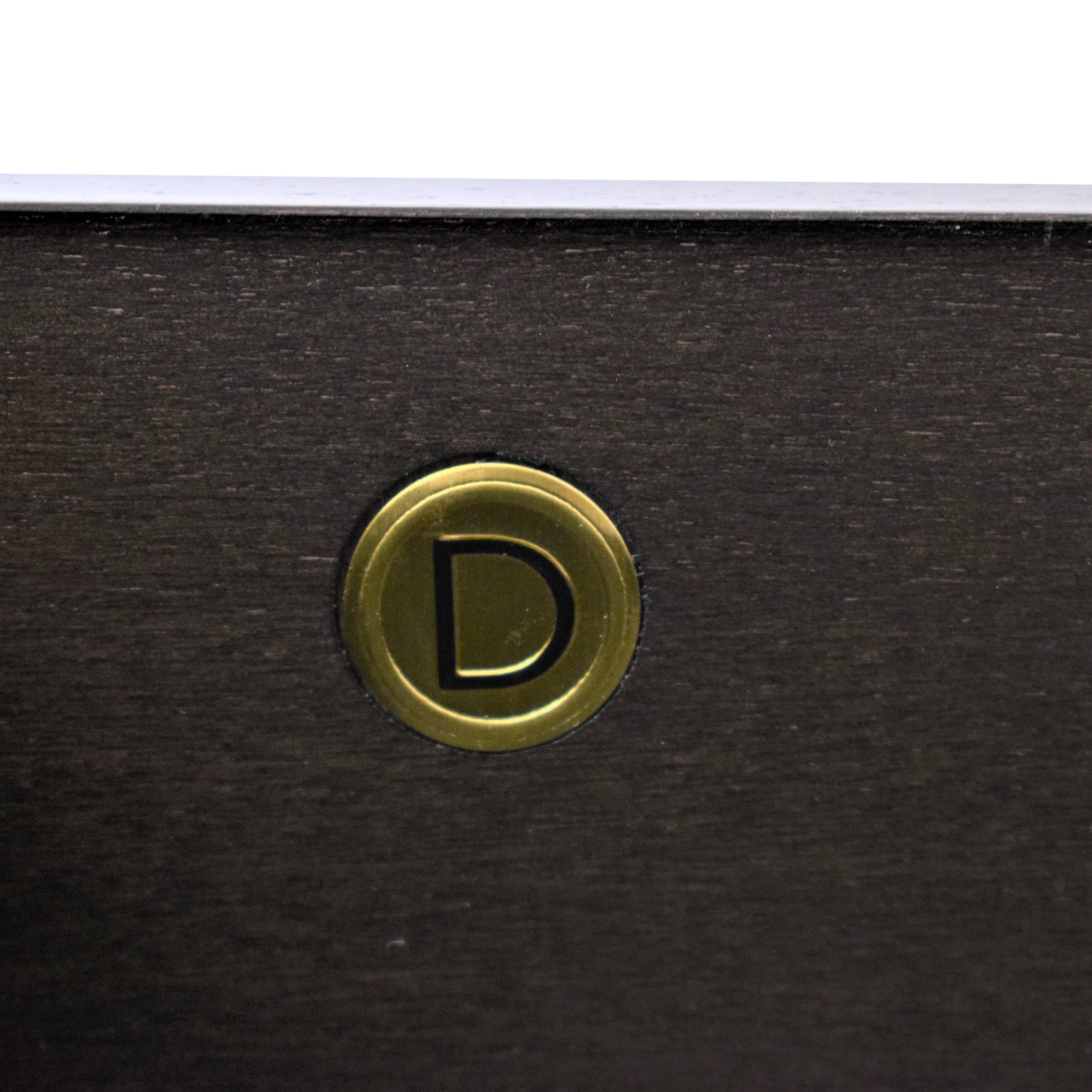Donghia Tendu Leather End Tables / End Tables