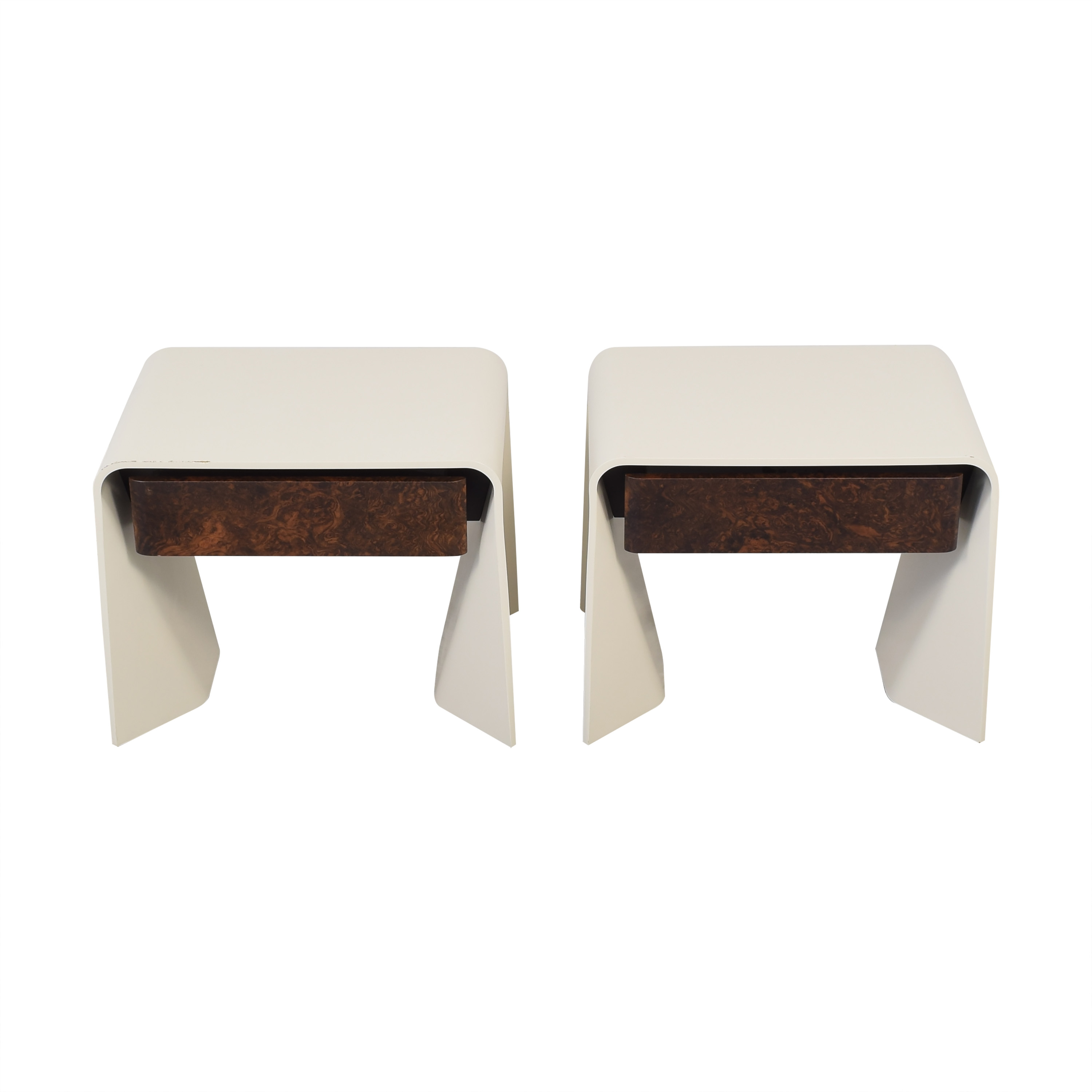 Donghia Donghia Tendu Leather End Tables Tables
