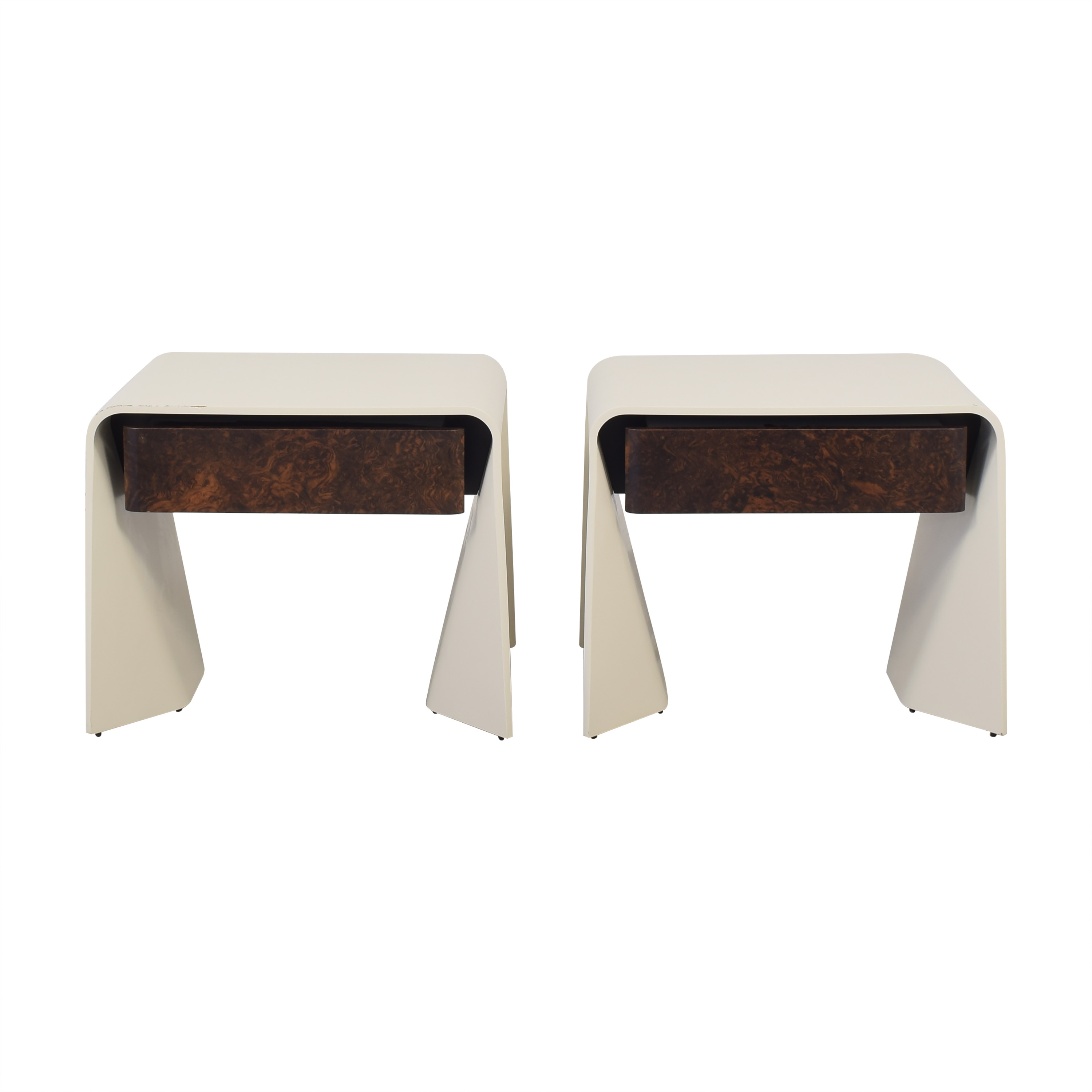 Donghia Donghia Tendu Leather End Tables coupon