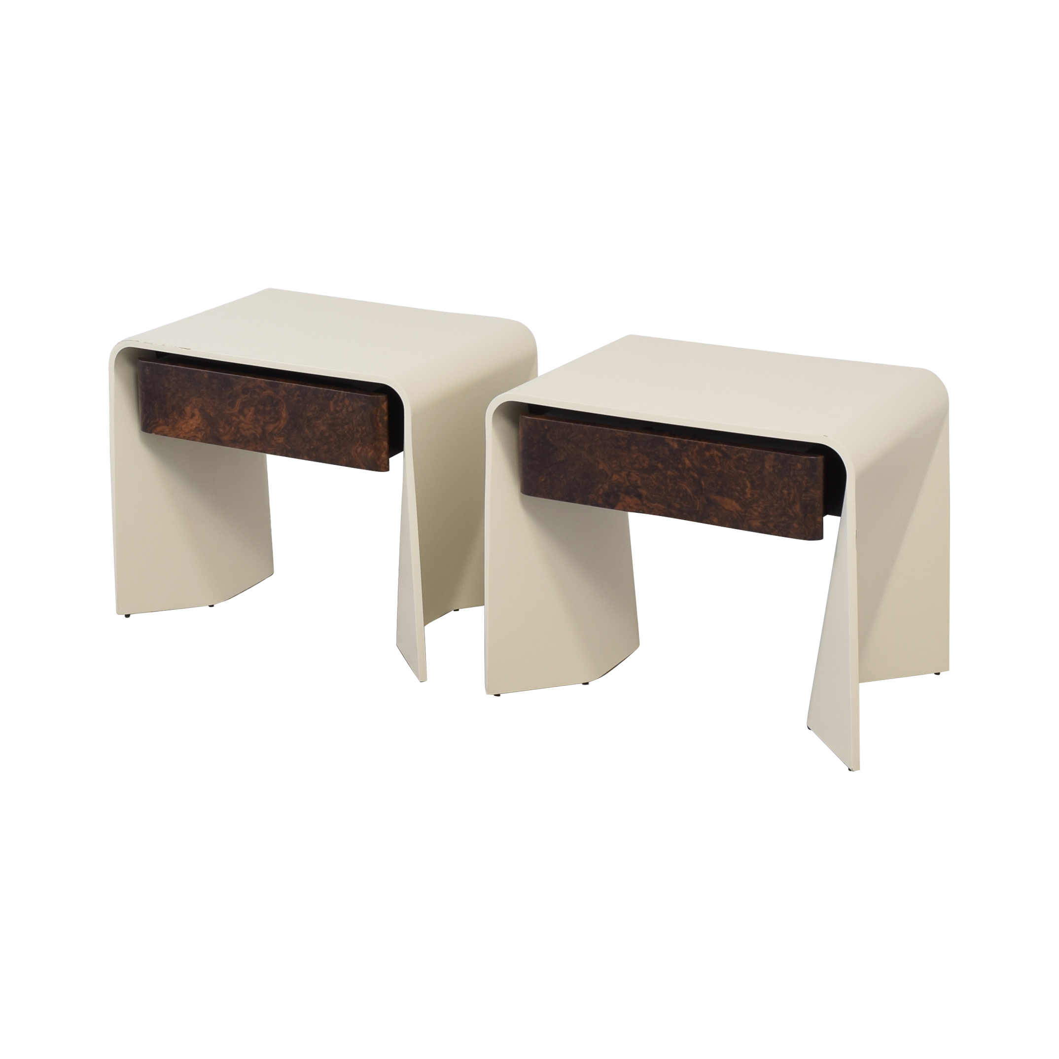 Donghia Donghia Tendu Leather End Tables nyc