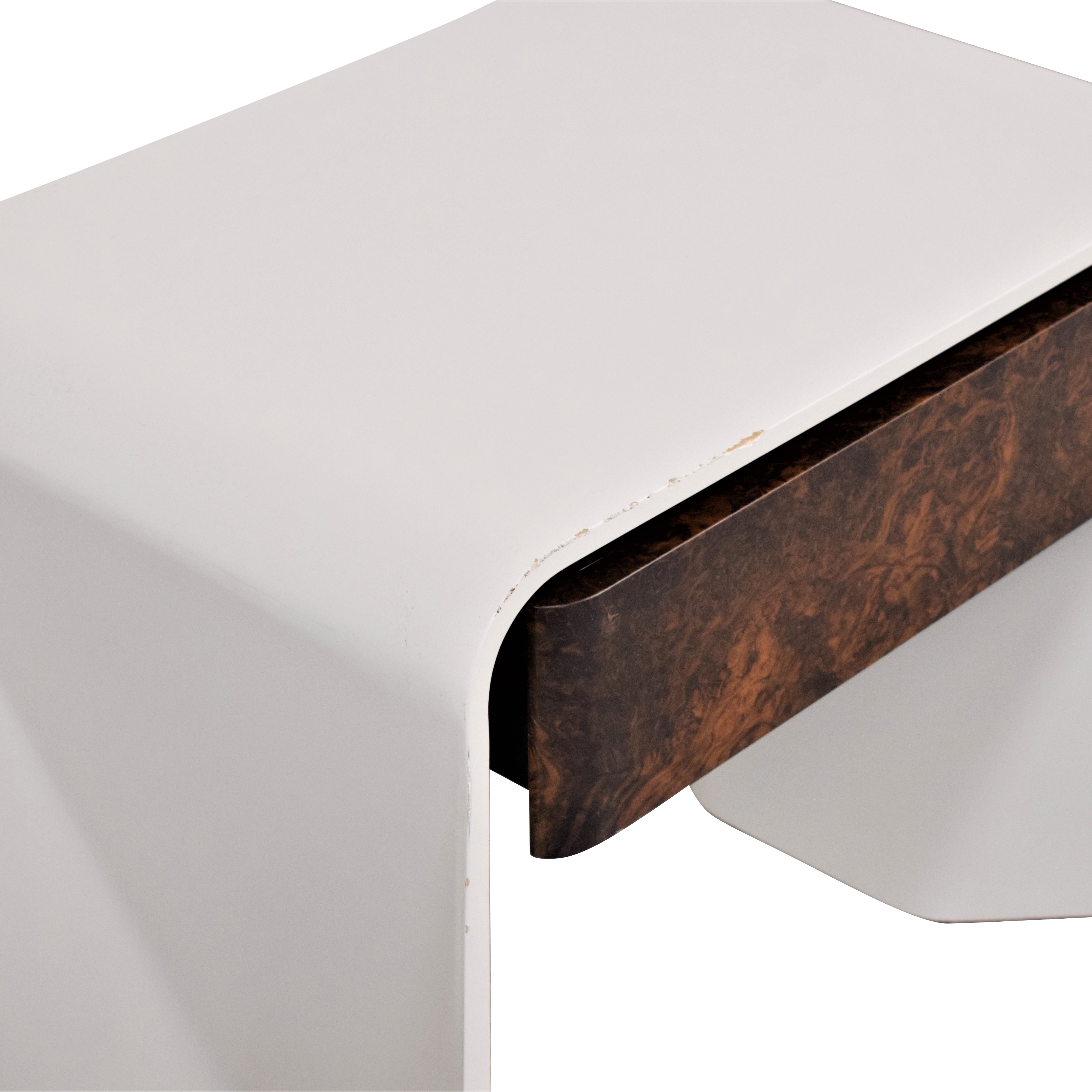 Donghia Donghia Tendu Leather End Tables ct