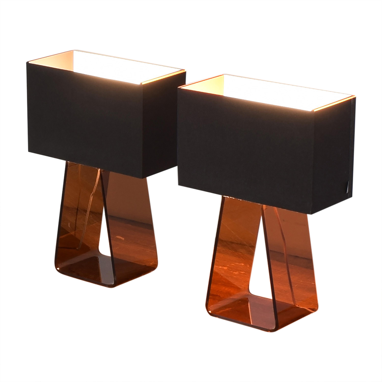 Pablo Designs Pablo Tube Top 21 Medium Table Lamps