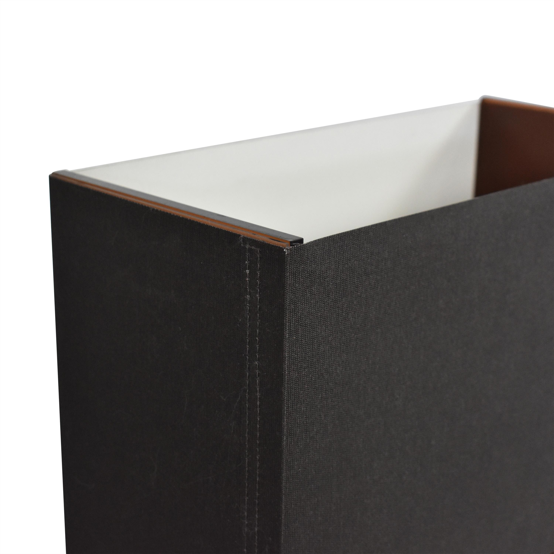 Pablo Designs Pablo Tube Top 21 Medium Table Lamps black & dark orange