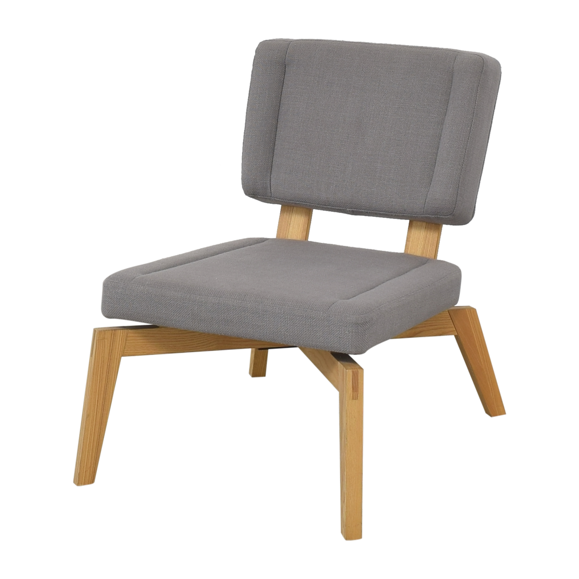 CB2 CB2 Lounge Chair with Ottoman Chairs