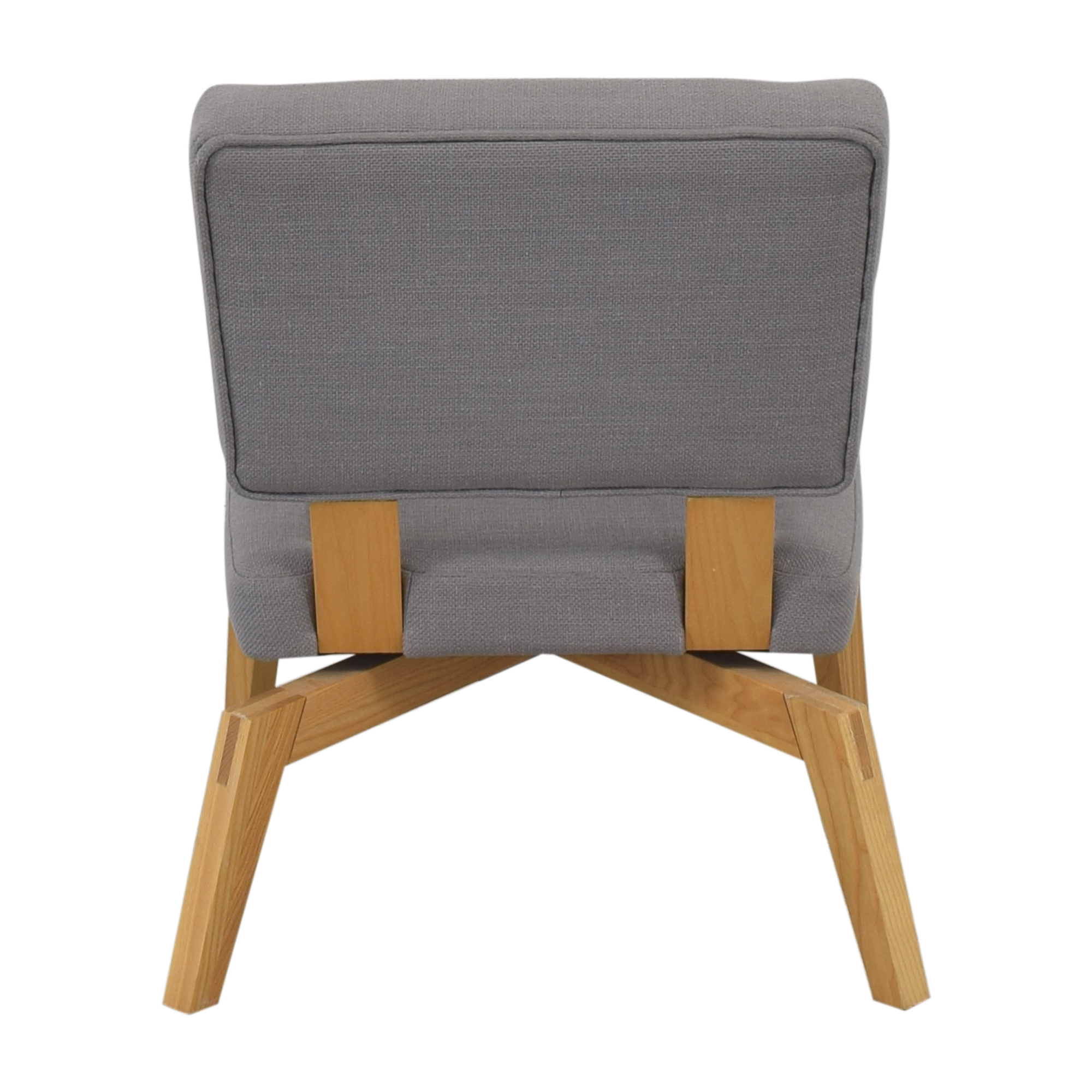 CB2 CB2 Lounge Chair with Ottoman pa